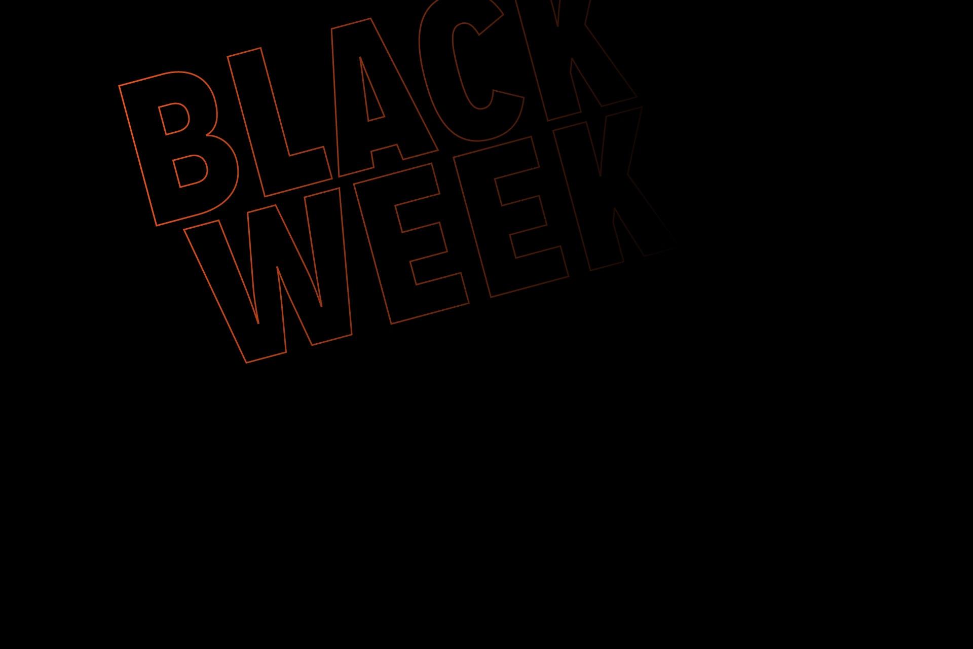 Black Week | Sweet 80%