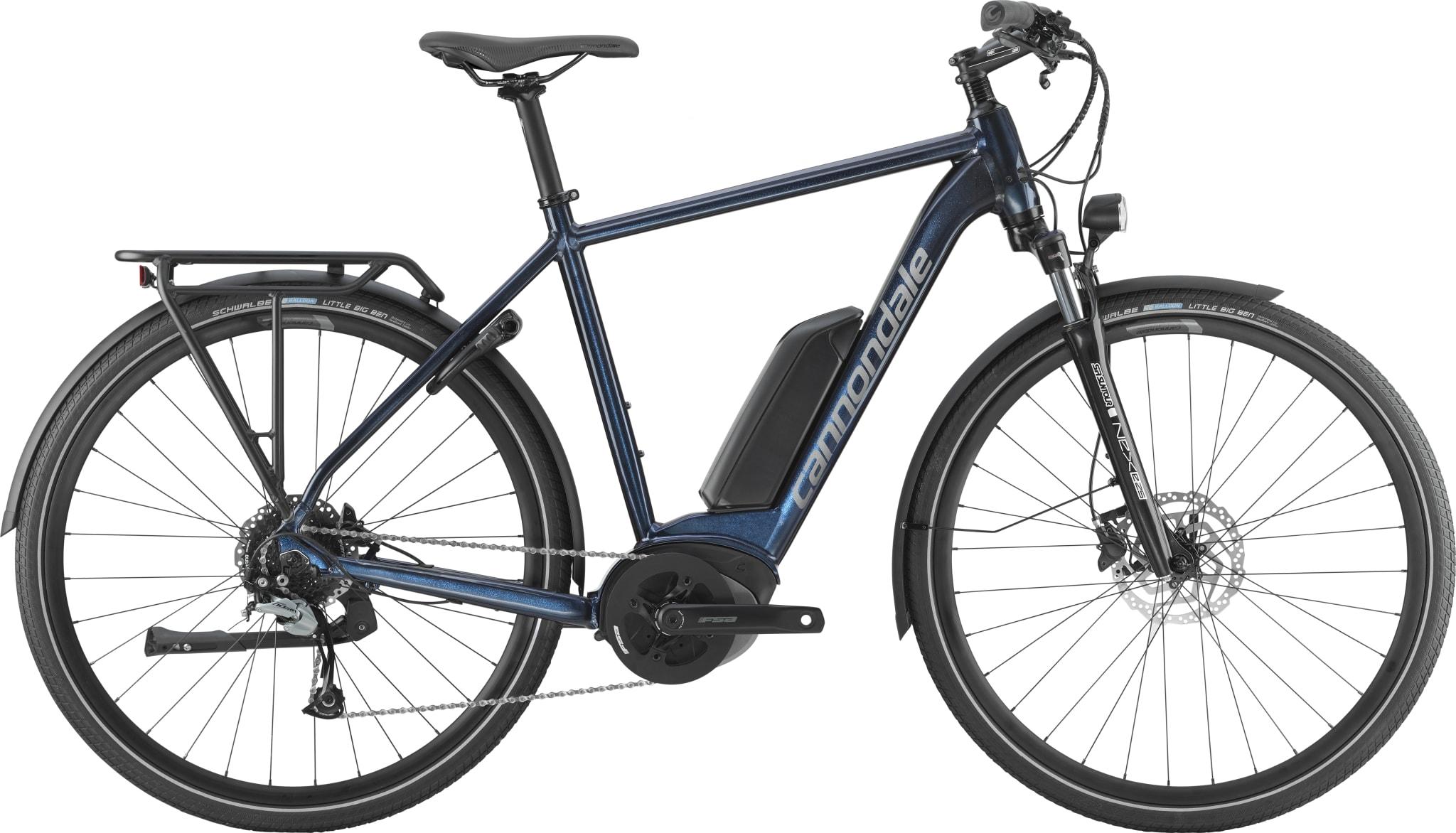 009d7880 El-sykkel med progressivt design og moderne løsninger