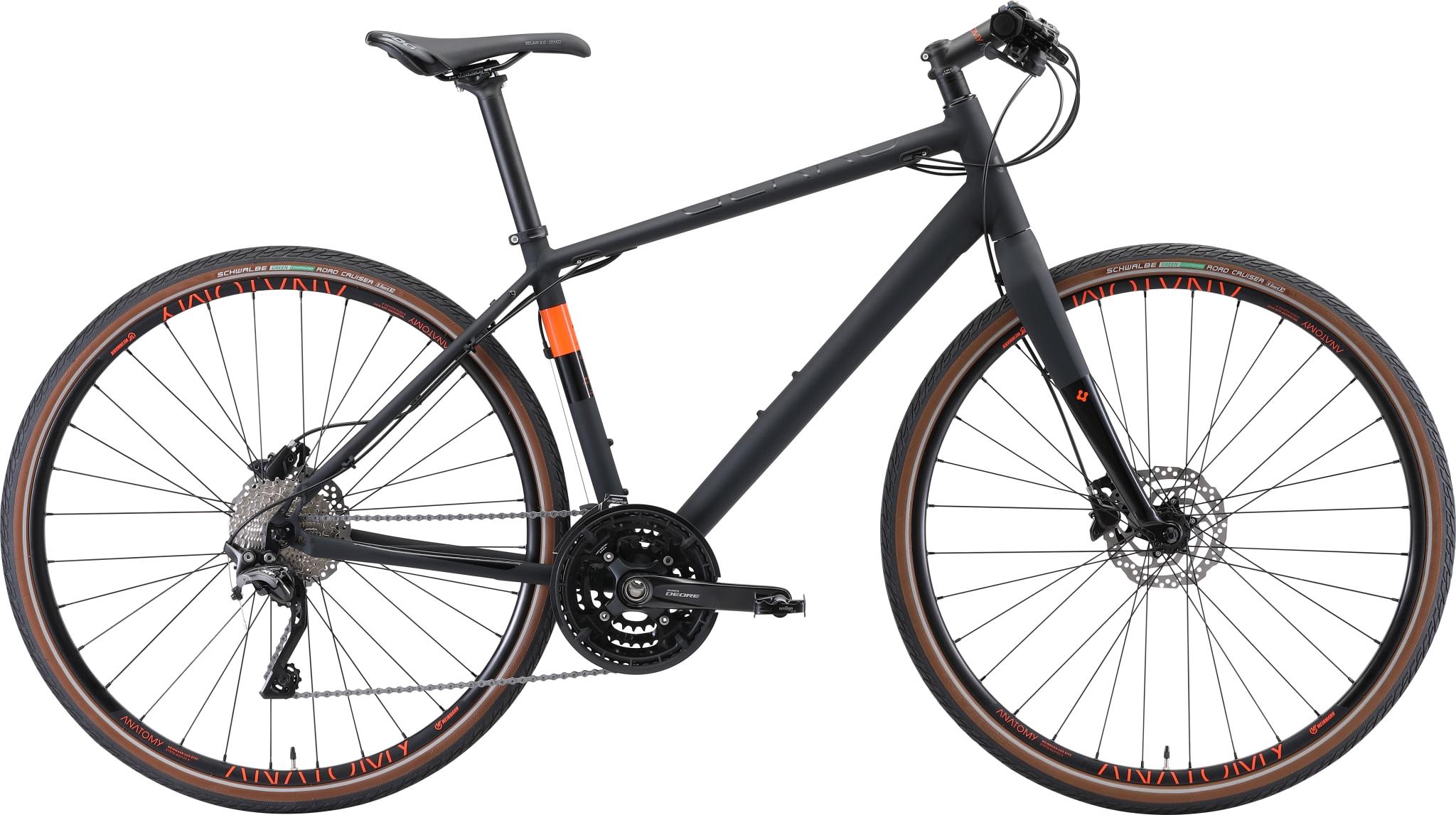 Superrask pendler-sykkel og et effektivt treningsredskap