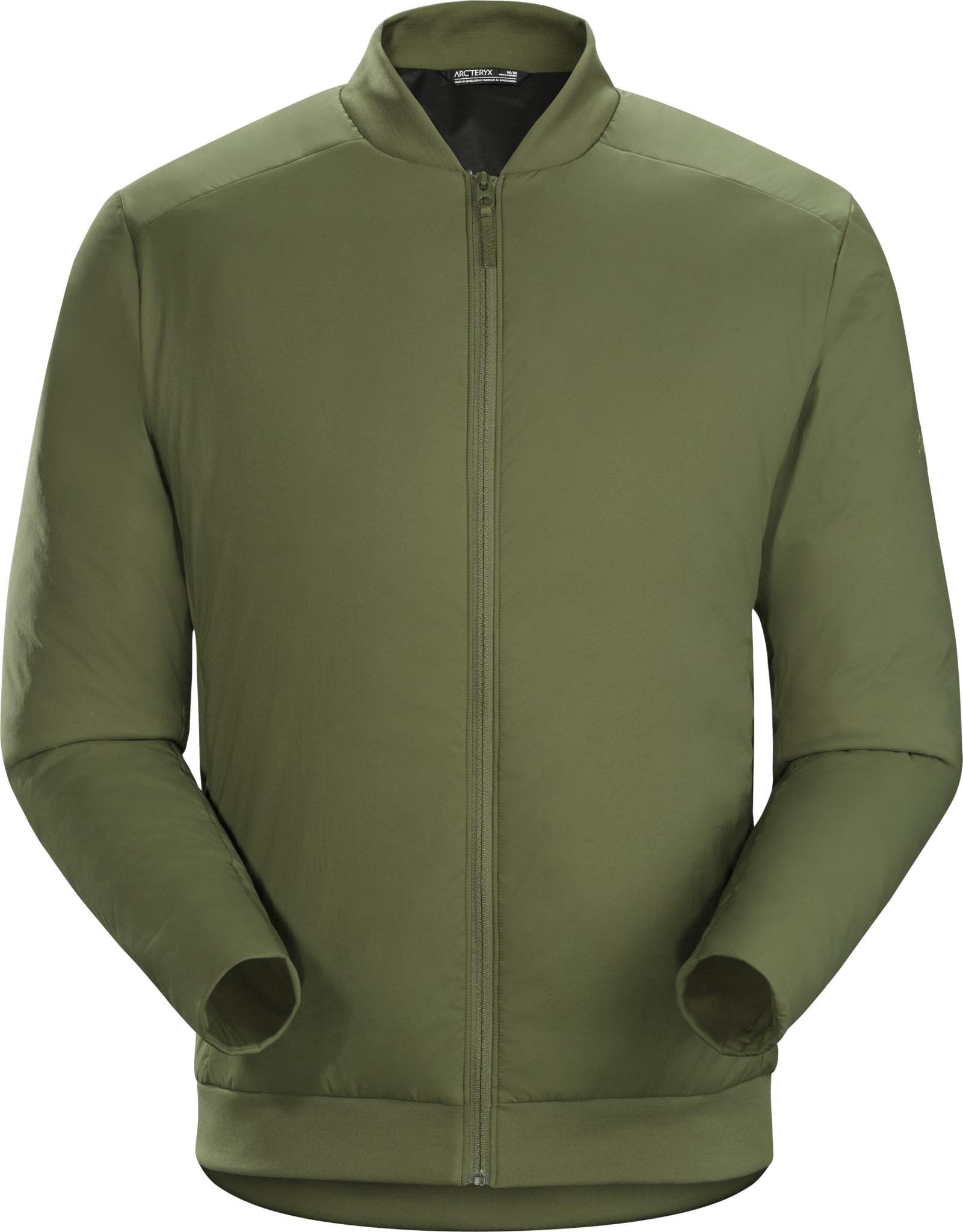 Lett, hverdagslig, syntetisk isolert jakke i pilotstil