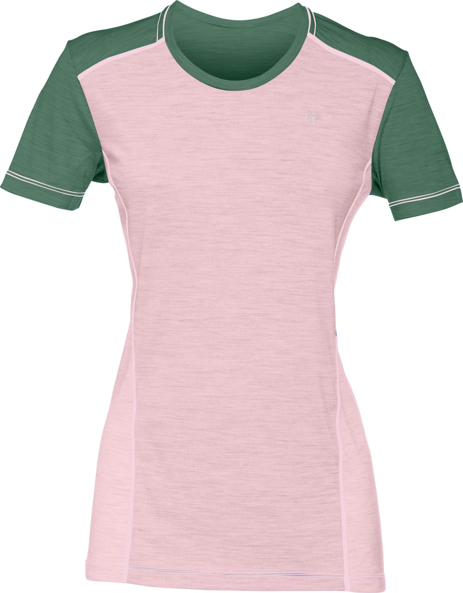 Helårs T-skjorte i silkemyk ull