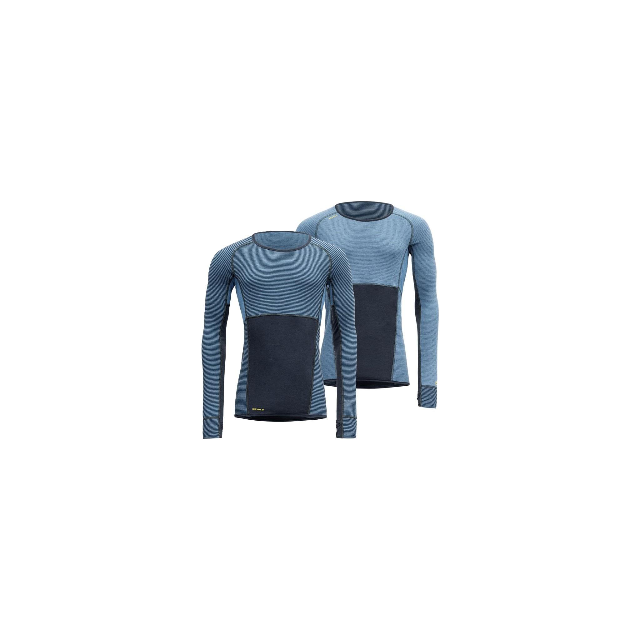 Undertøyet har to sider som er tilpasset til forskjellige intensitetsnivåer
