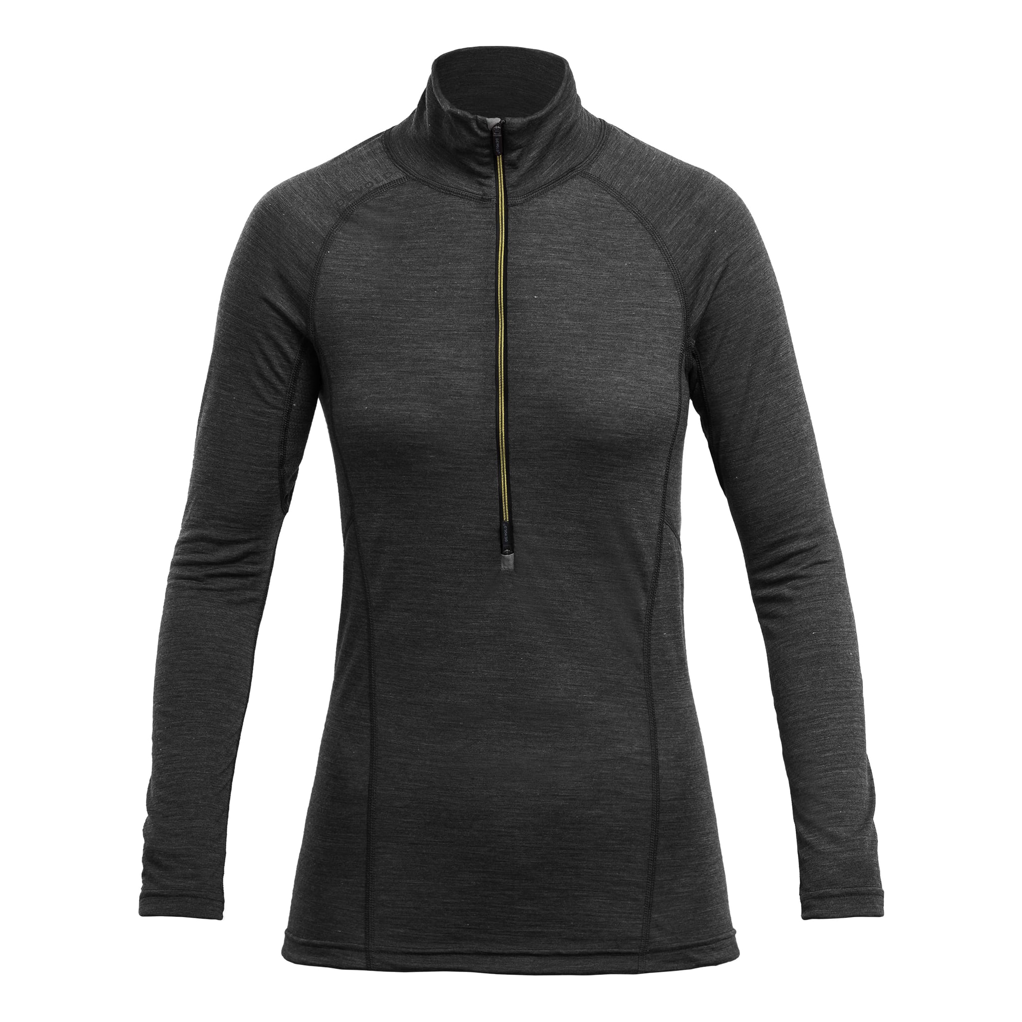 Running Woman Zip Neck