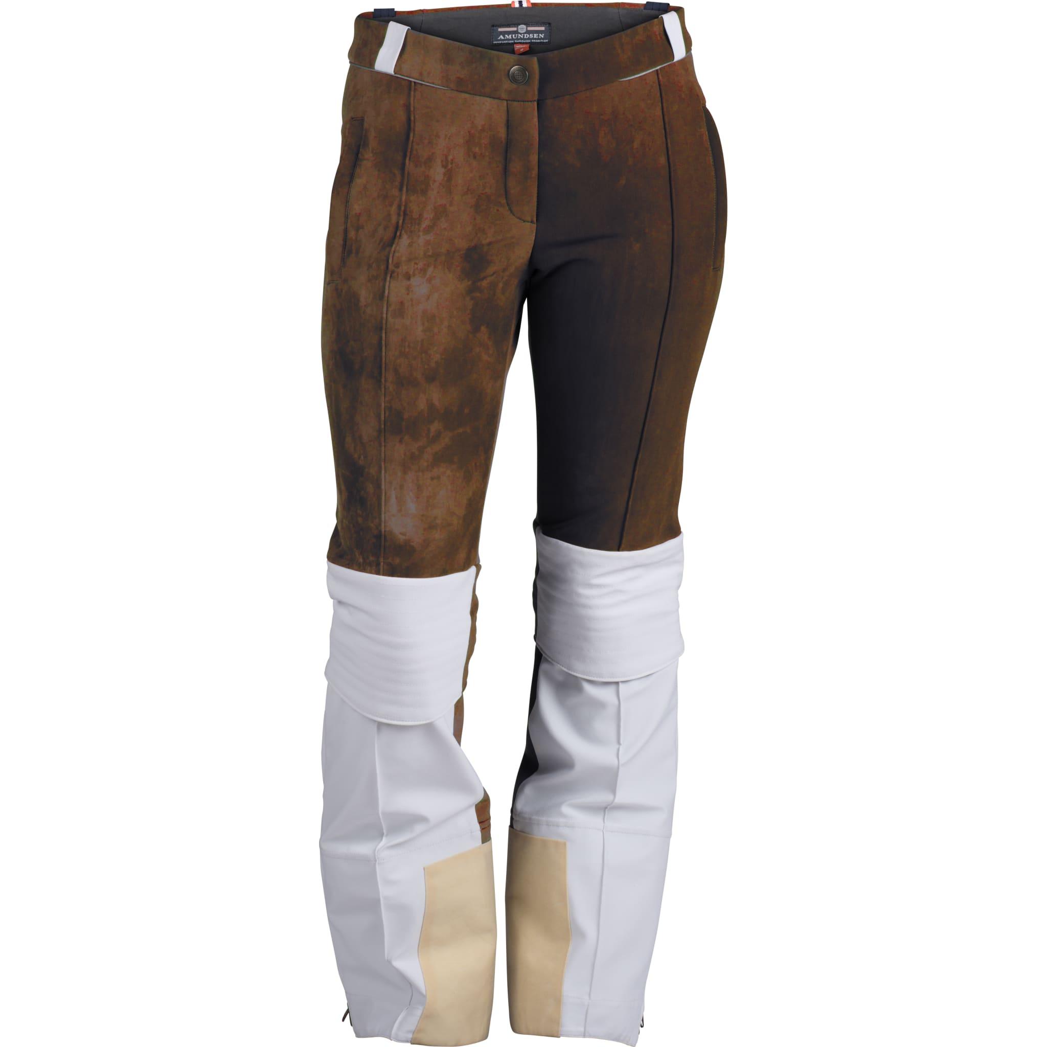 Nikkers og gamasj integrert med glidelås til en bukse