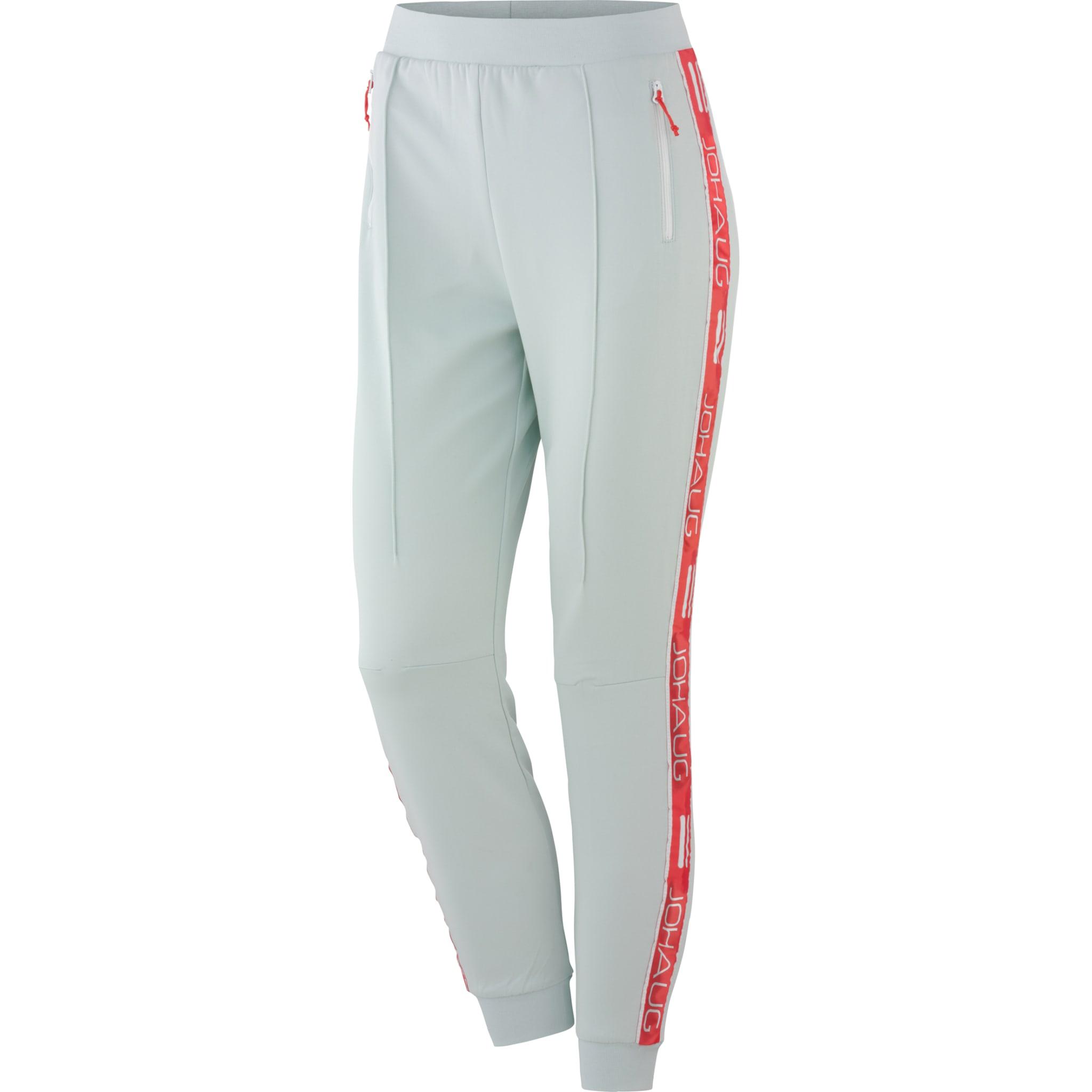 Track-suit bukse med høyt liv i retro stil