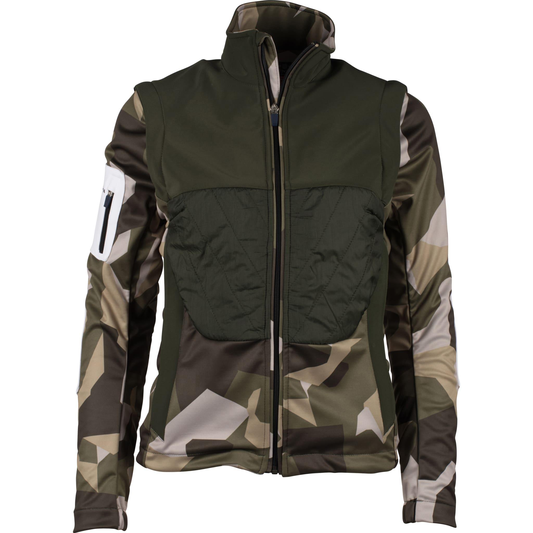 Allsidig jakke for alle vinteraktiviteter med avtagbare ermer