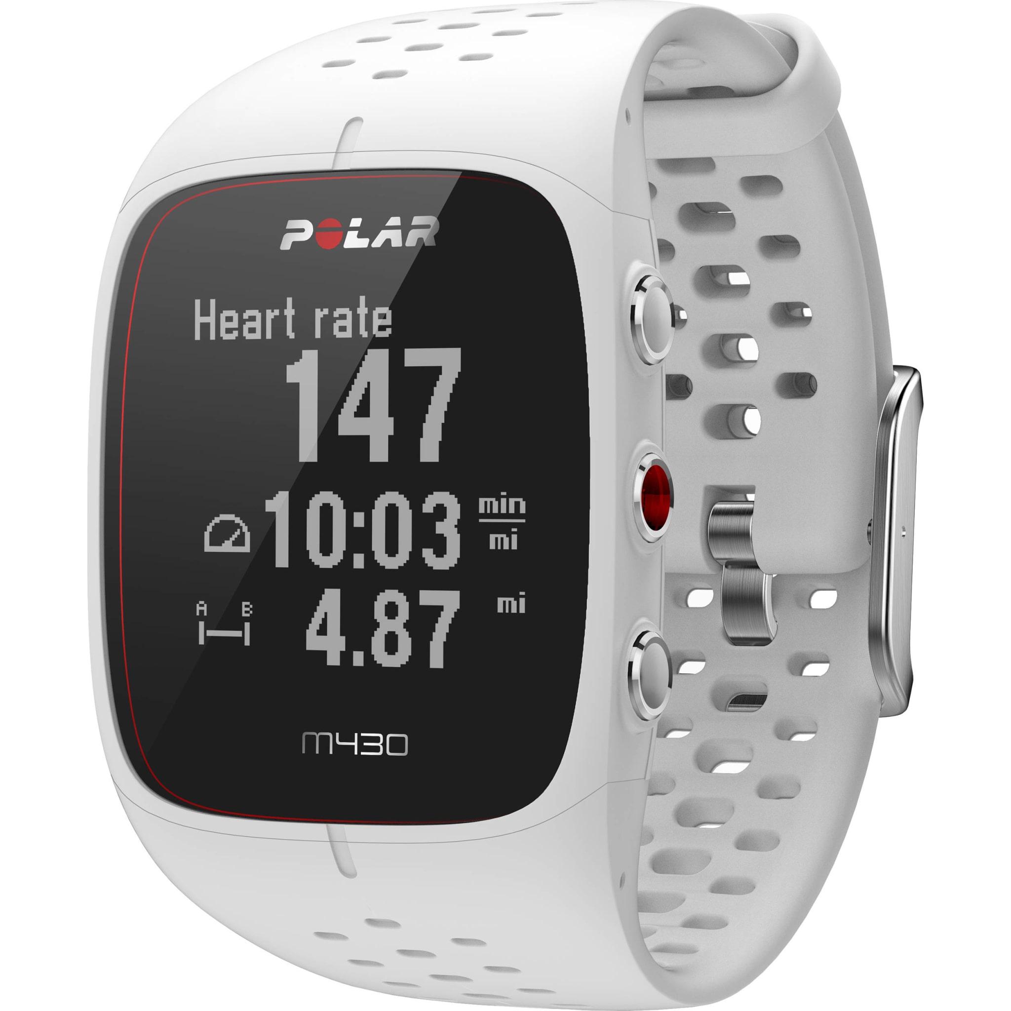 Løpeklokke med pulsmåling på håndleddet og GPS