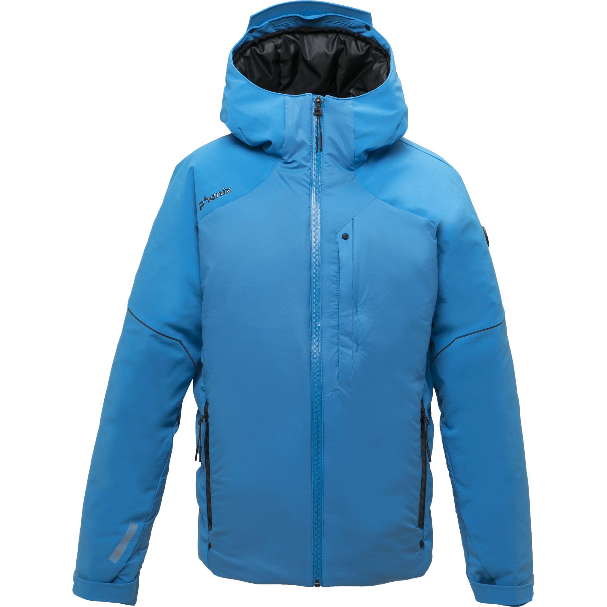 Vindtett og vanntett jakke med dun