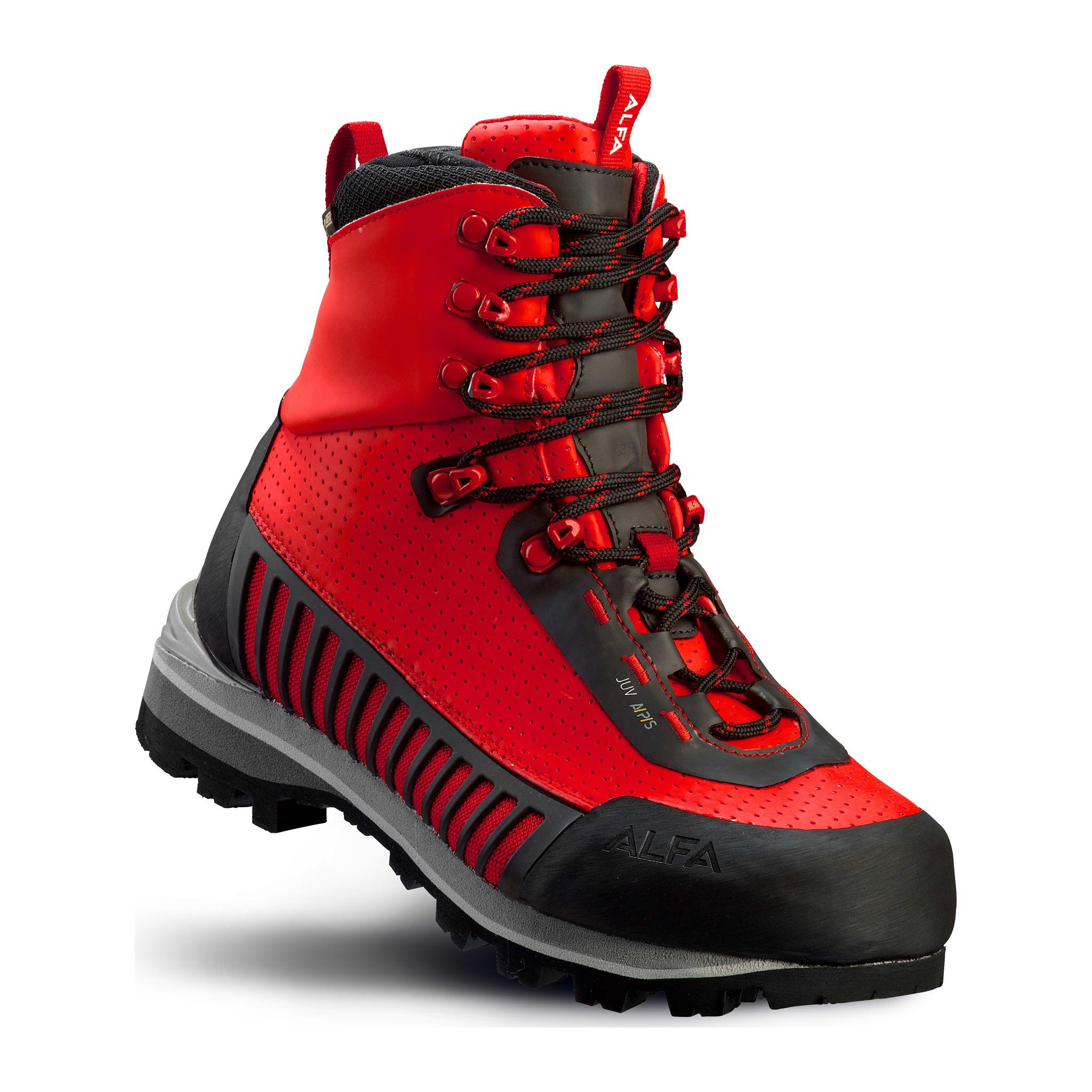 Stødige og lette fjellstøvler i slitesterkt og vedlikeholdsfritt Alfa Air™