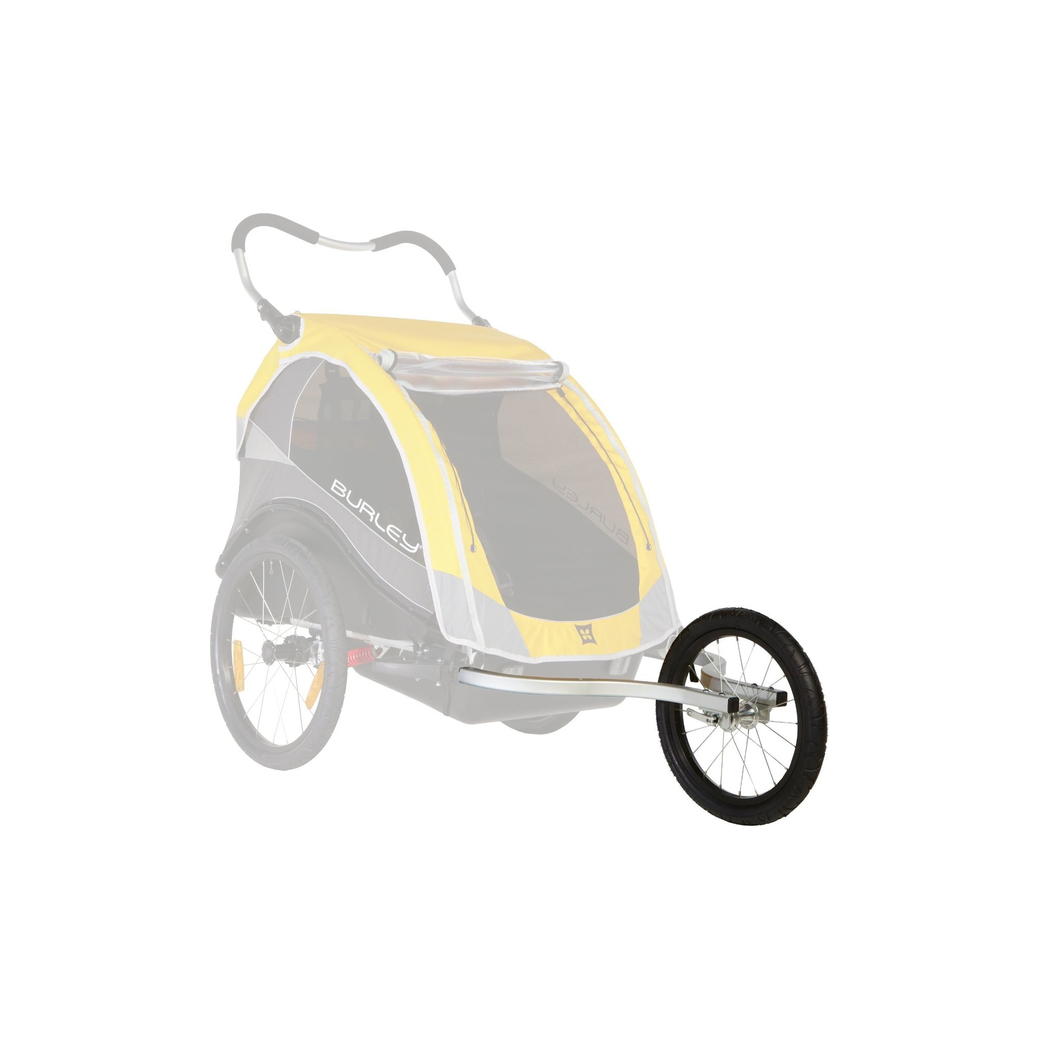 Gjør sykkelvognen om til joggevogn
