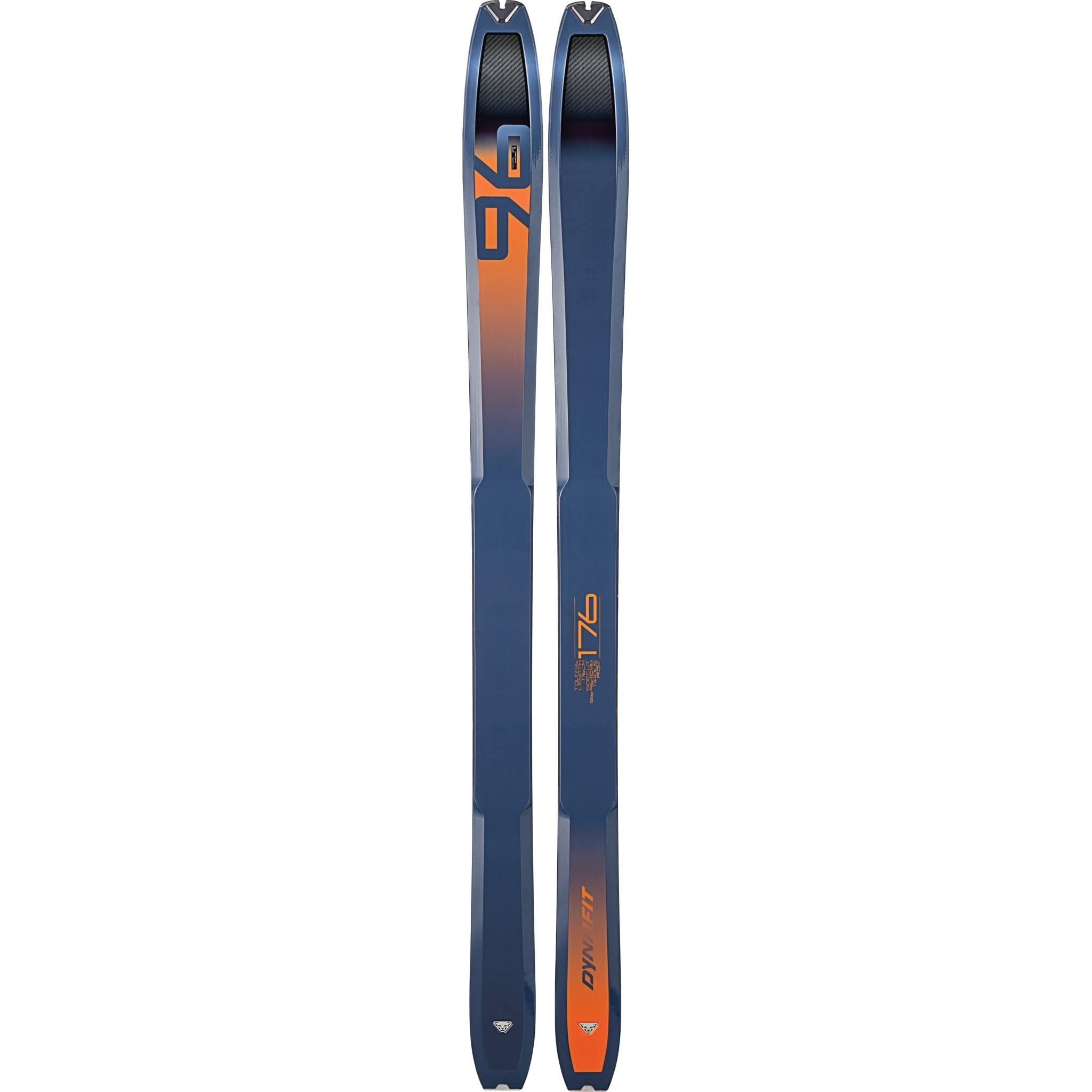 Superlett og lettkjørt ski som også har god flyteevne