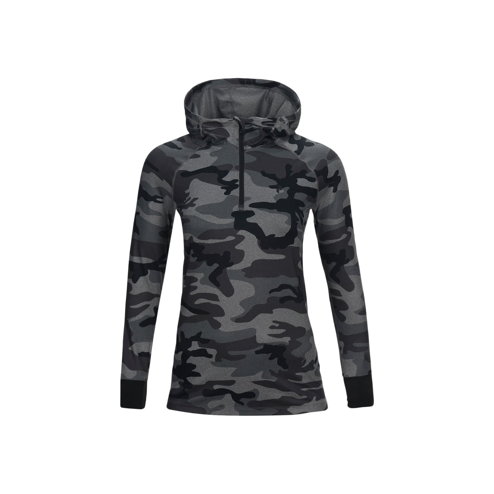Spirit Printed Hooded Melange Jacket W