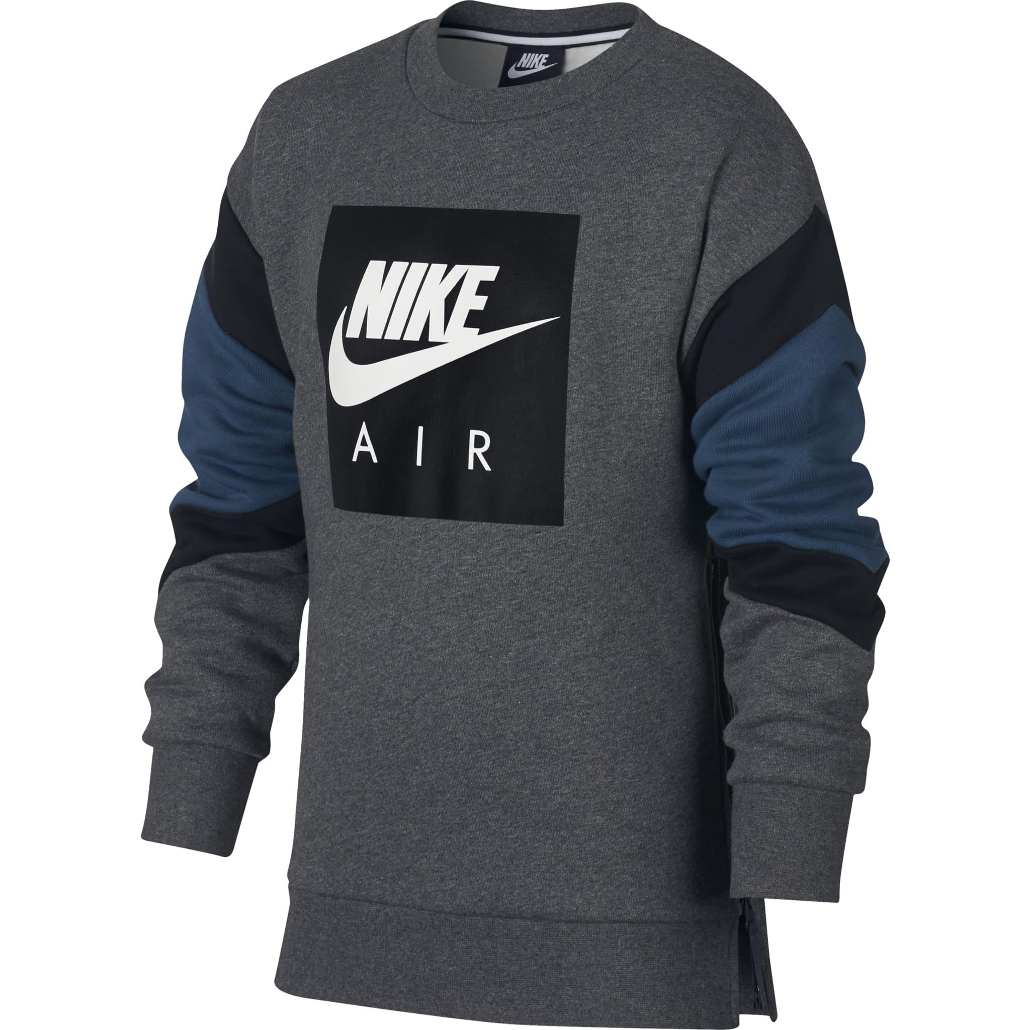 Supermyk genser med glidelås til lufting på siden