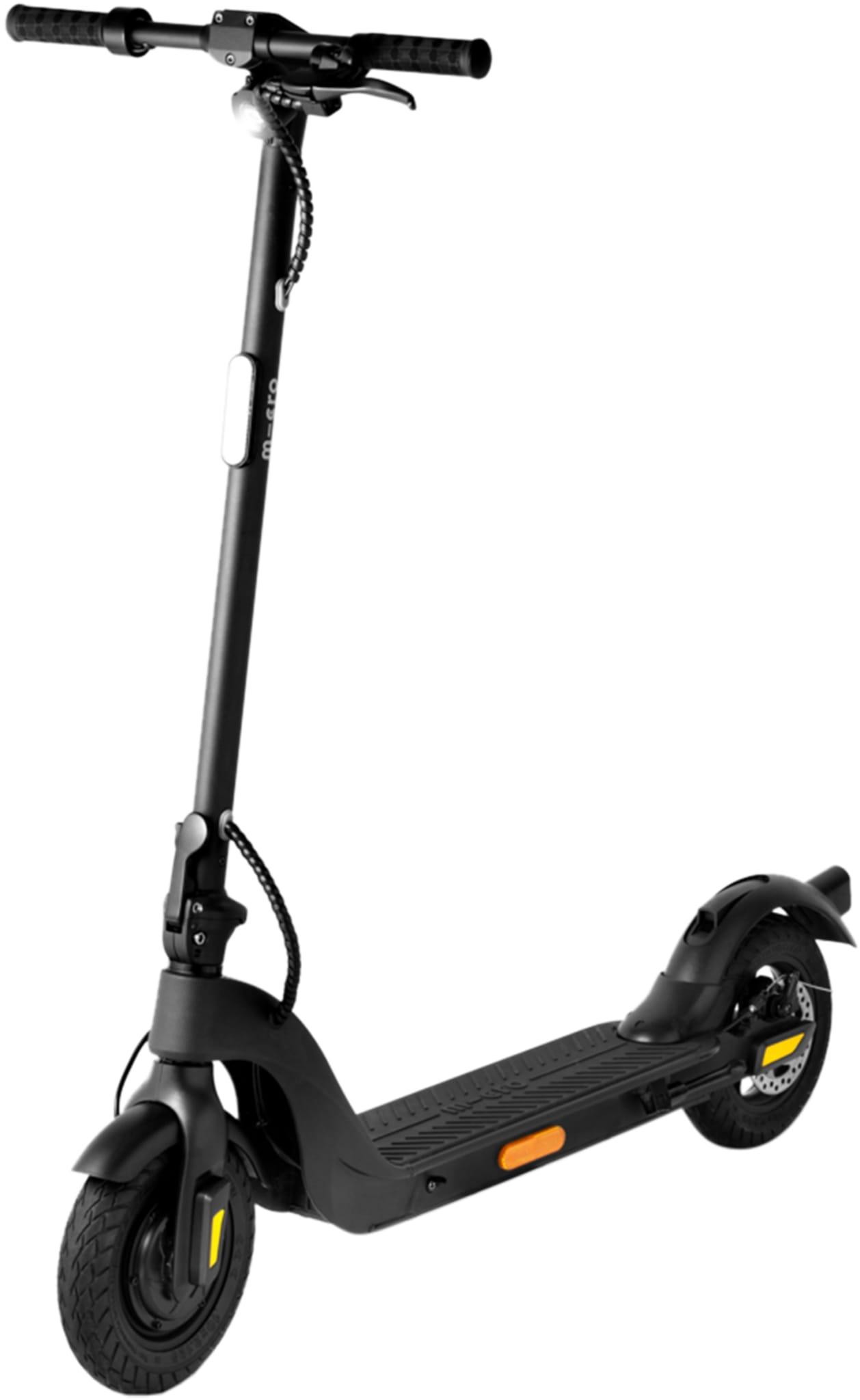 El-sparkesykkel med kraftig motor