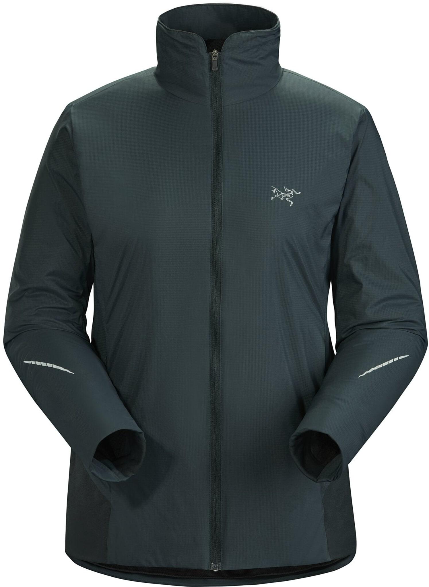 Særdeles god varmeregulering i en lett, svært pustende, vind- og vannavvisende jakke