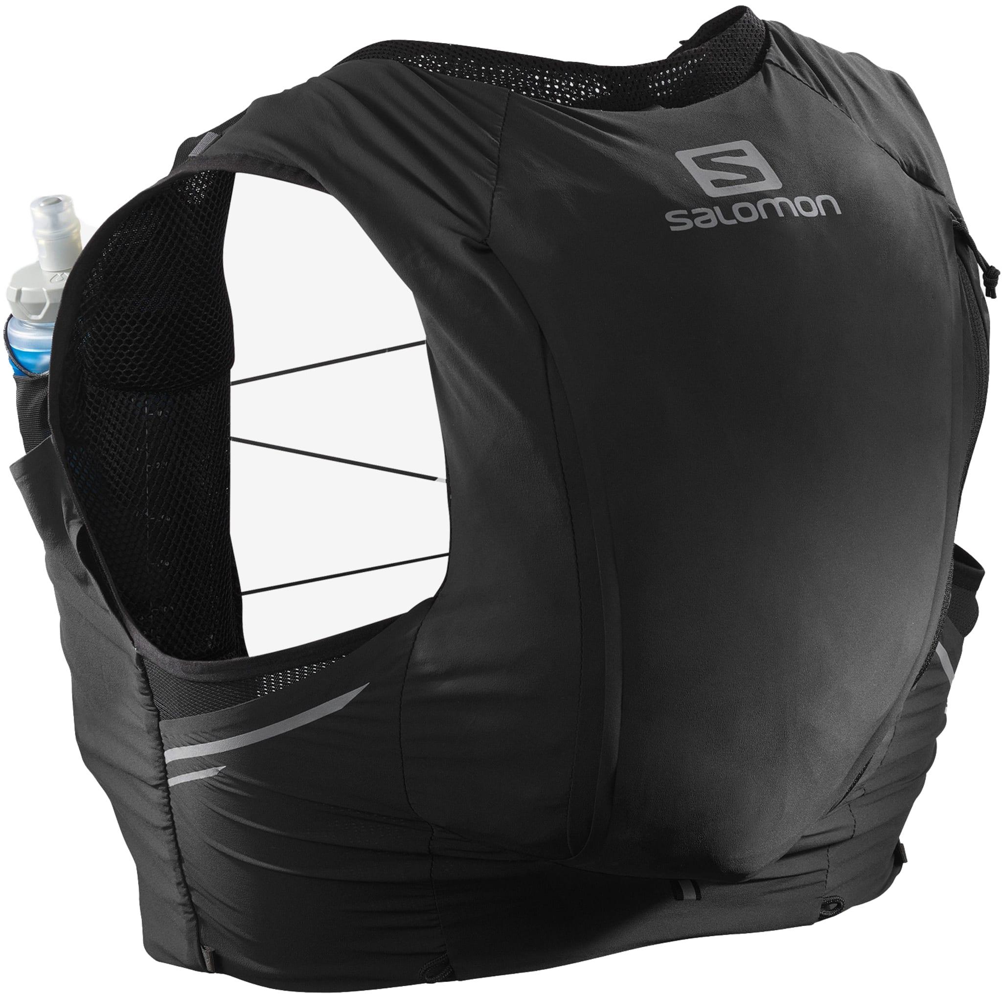 Høykvalitets løpevest med stretchy passform og to vannflasker