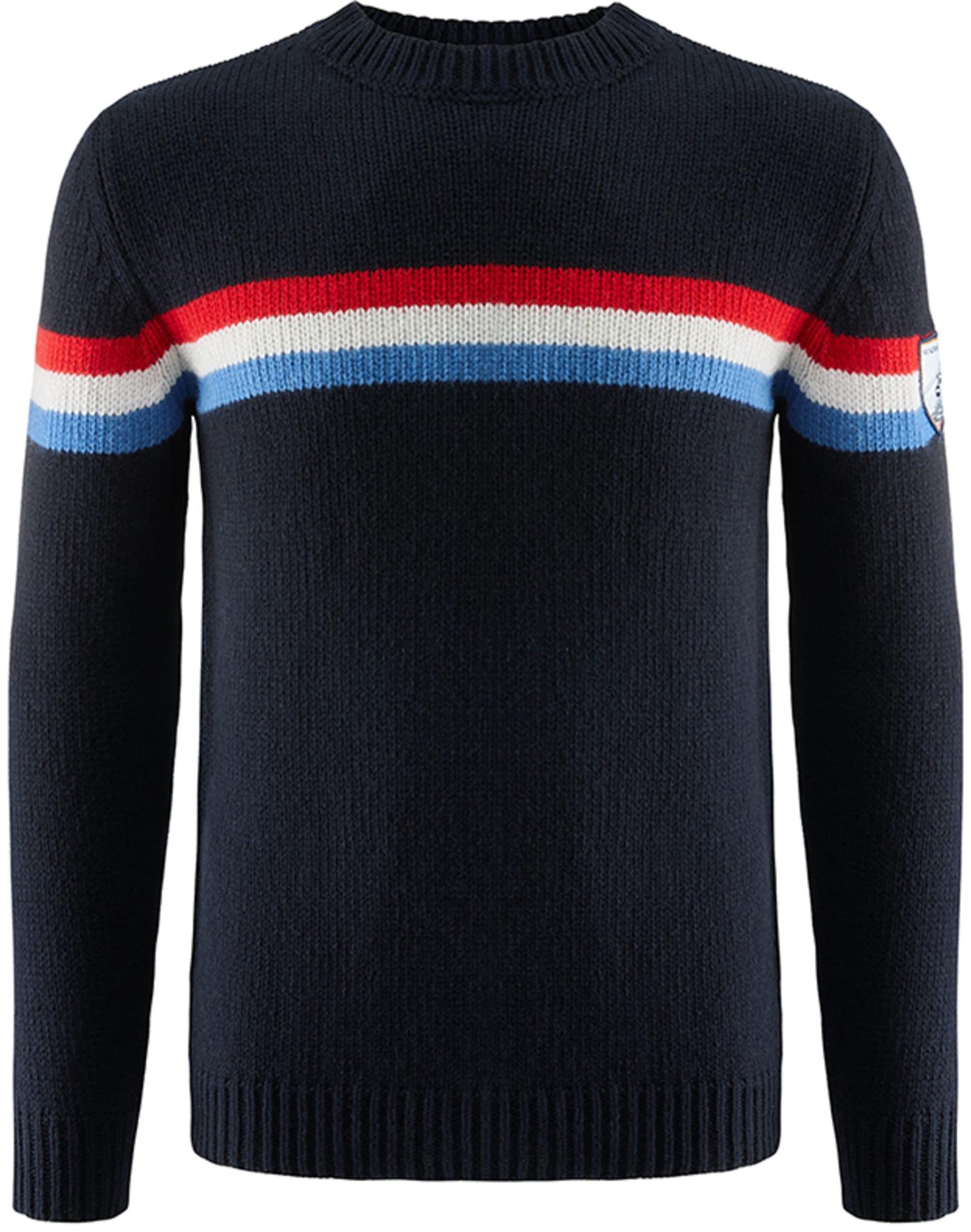 Klasisk genser i en utrolig myk kashmir/merinoull-blanding