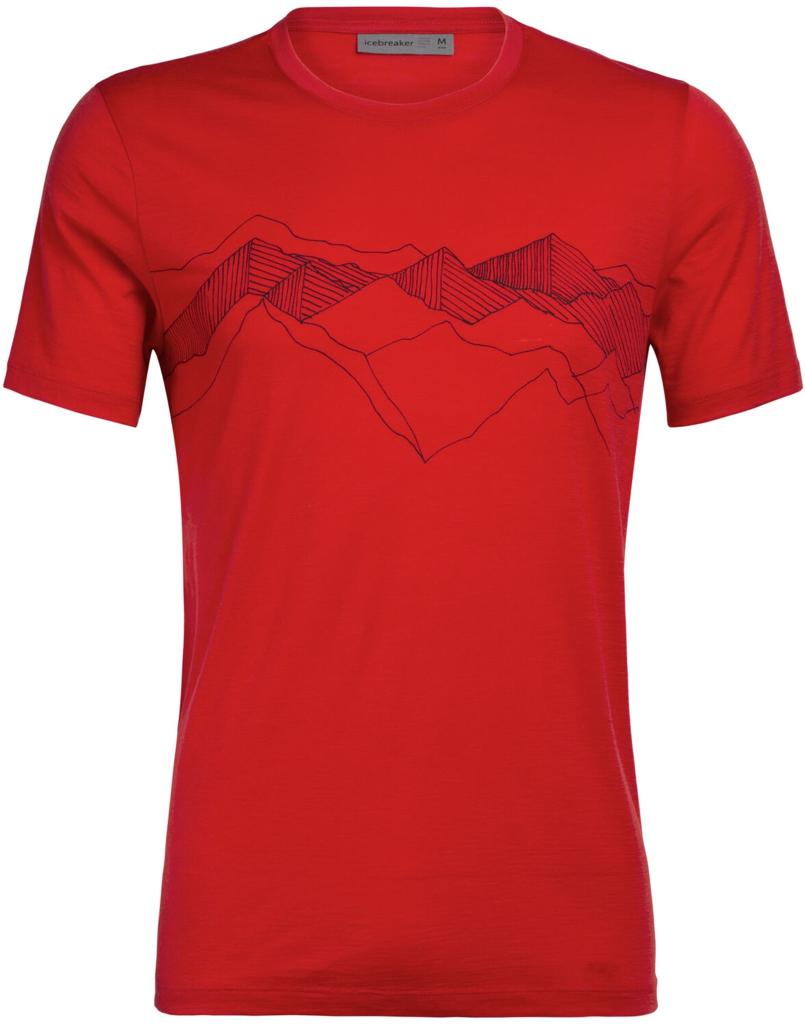 Tech Lite SS Crewe Peak Patterns M