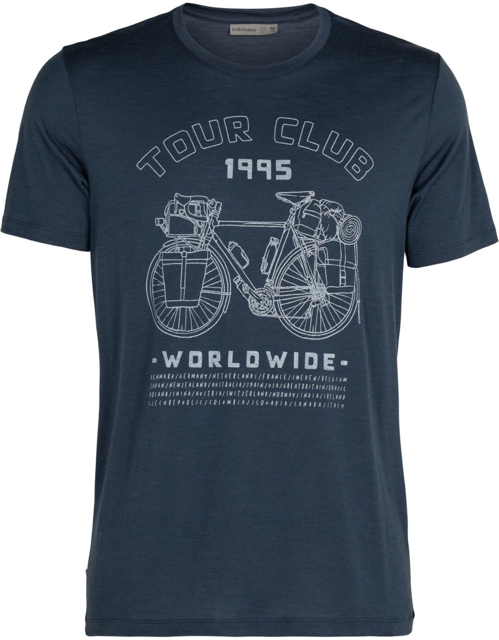 Tech Lite SS Crewe Tour Club M