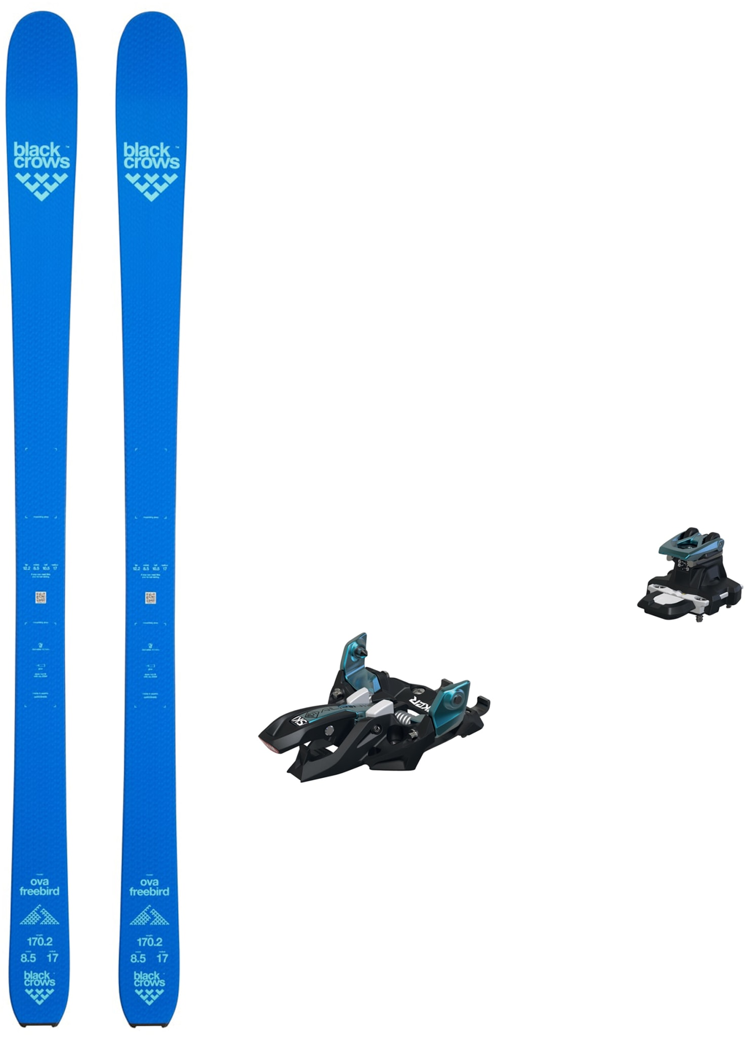 Fullblods topptur-ski for deg som liker deg på lettere utstyr og lengere turer