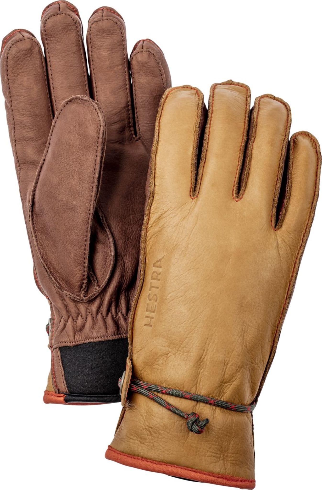Retro inspirert hanske laget av mykt kuskinn