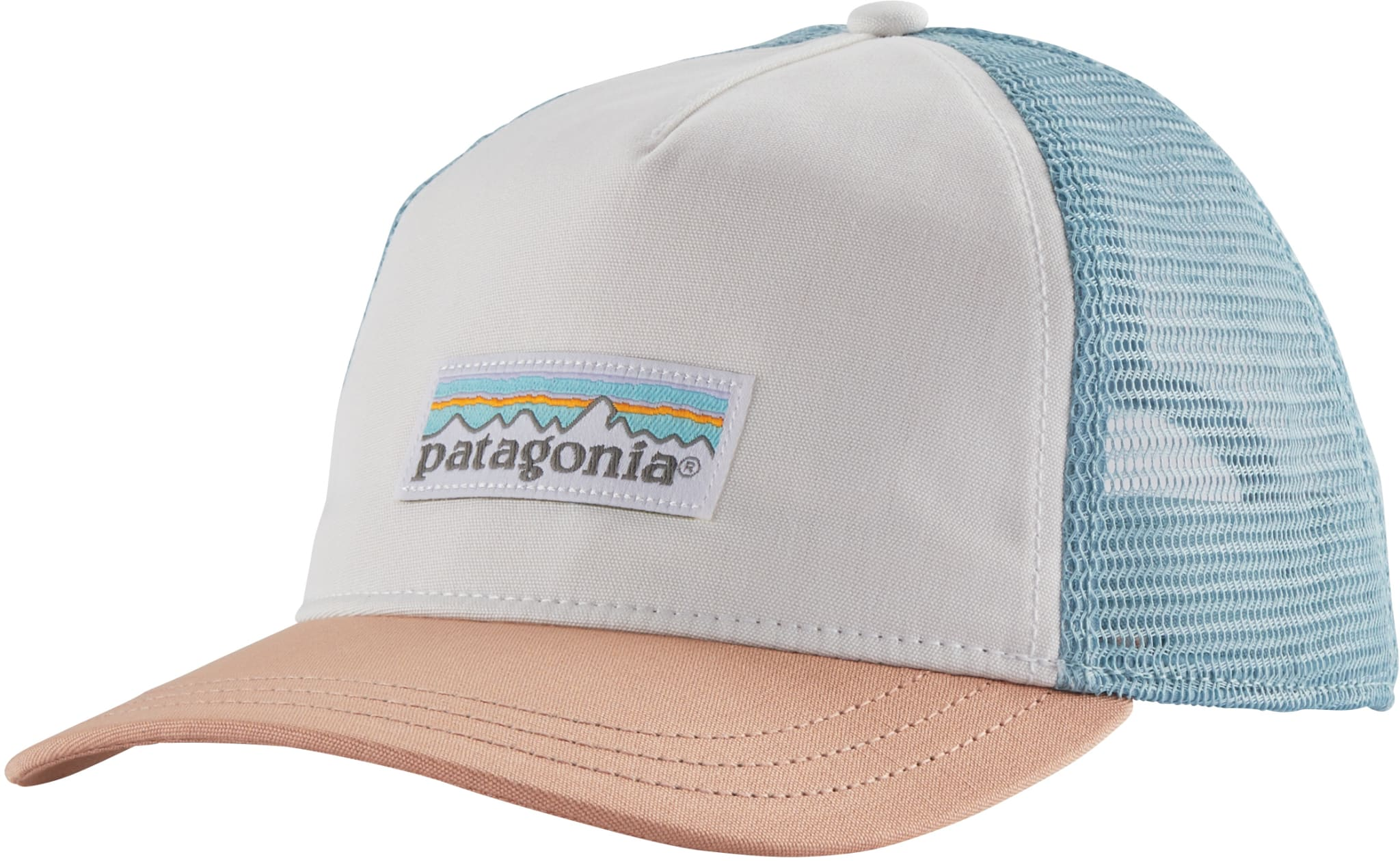Pastel P6 Label Layback Trucker Hat W