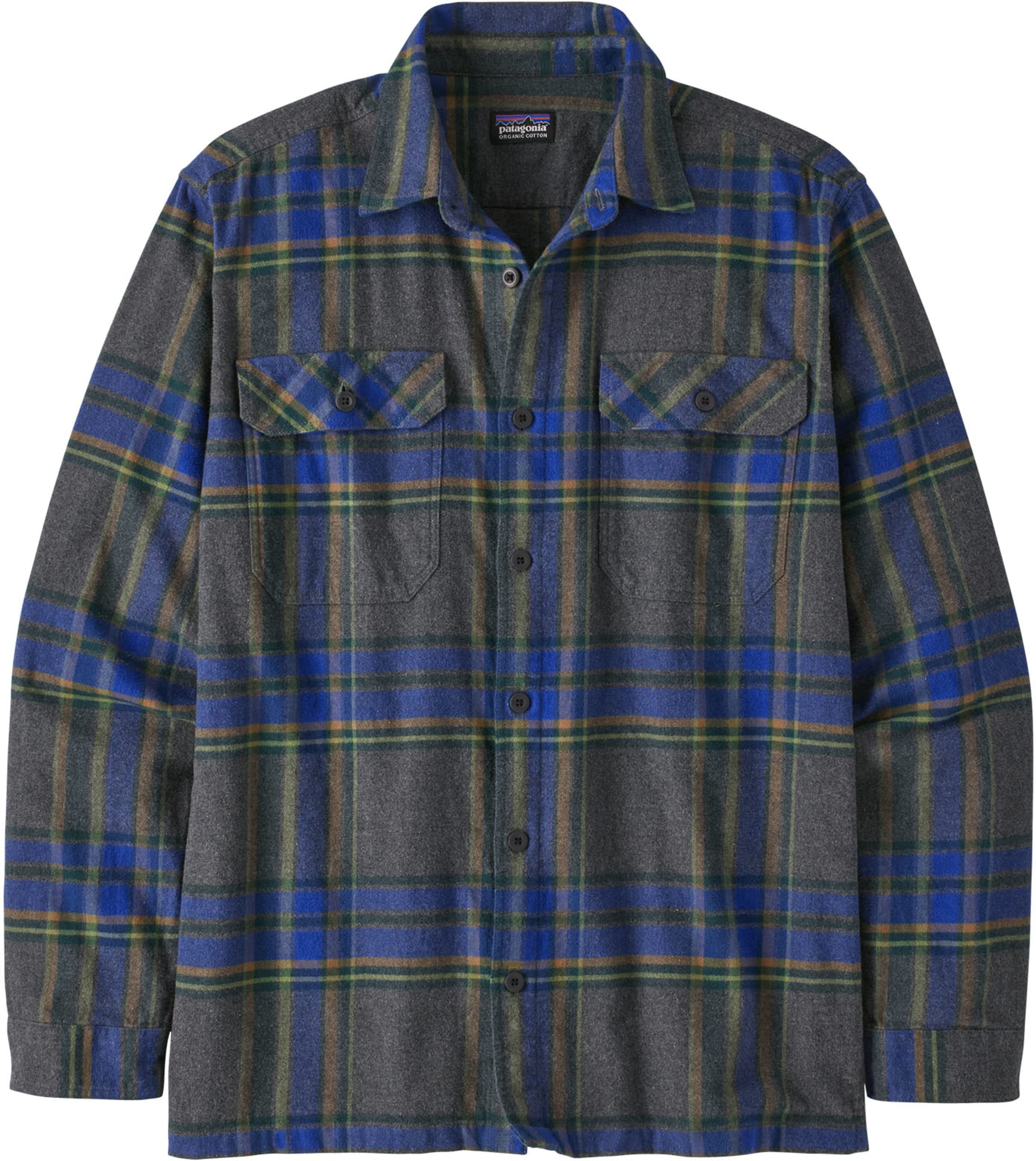 Organic Cotton Midweight Fjord Flannel Shirt M