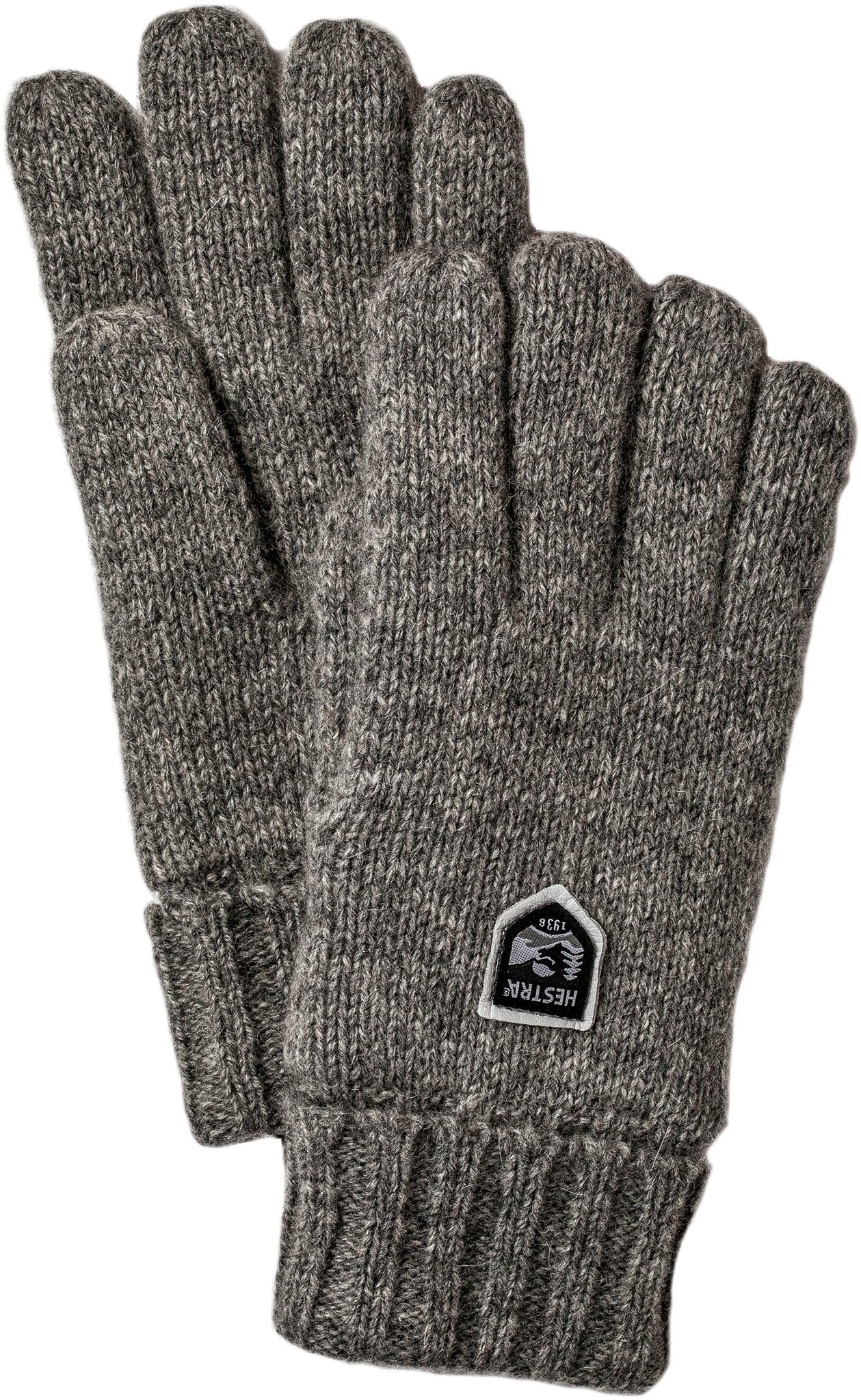 Varm hanske av Shetland ull
