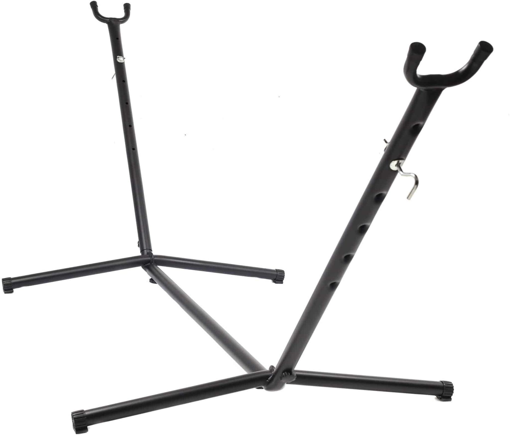 Stilrent og solid stativ til oppheng av hengekøye