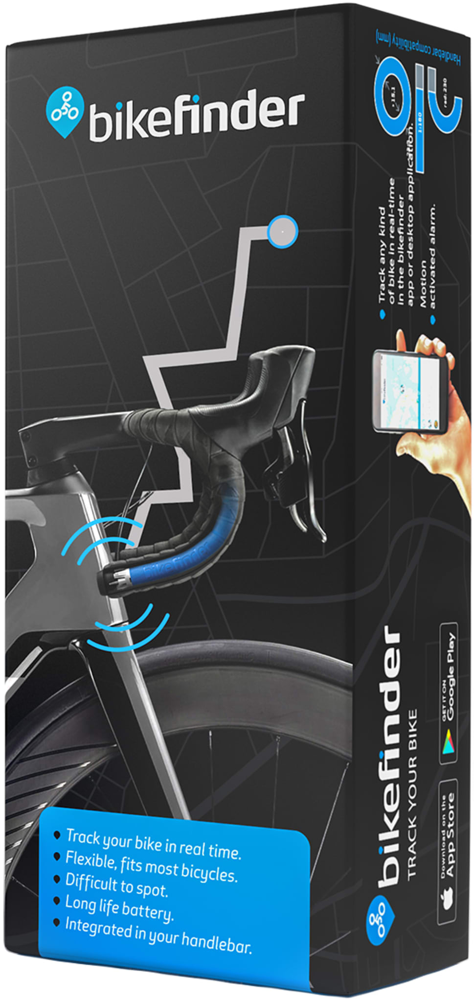 GPS-tracker til sykkelen din