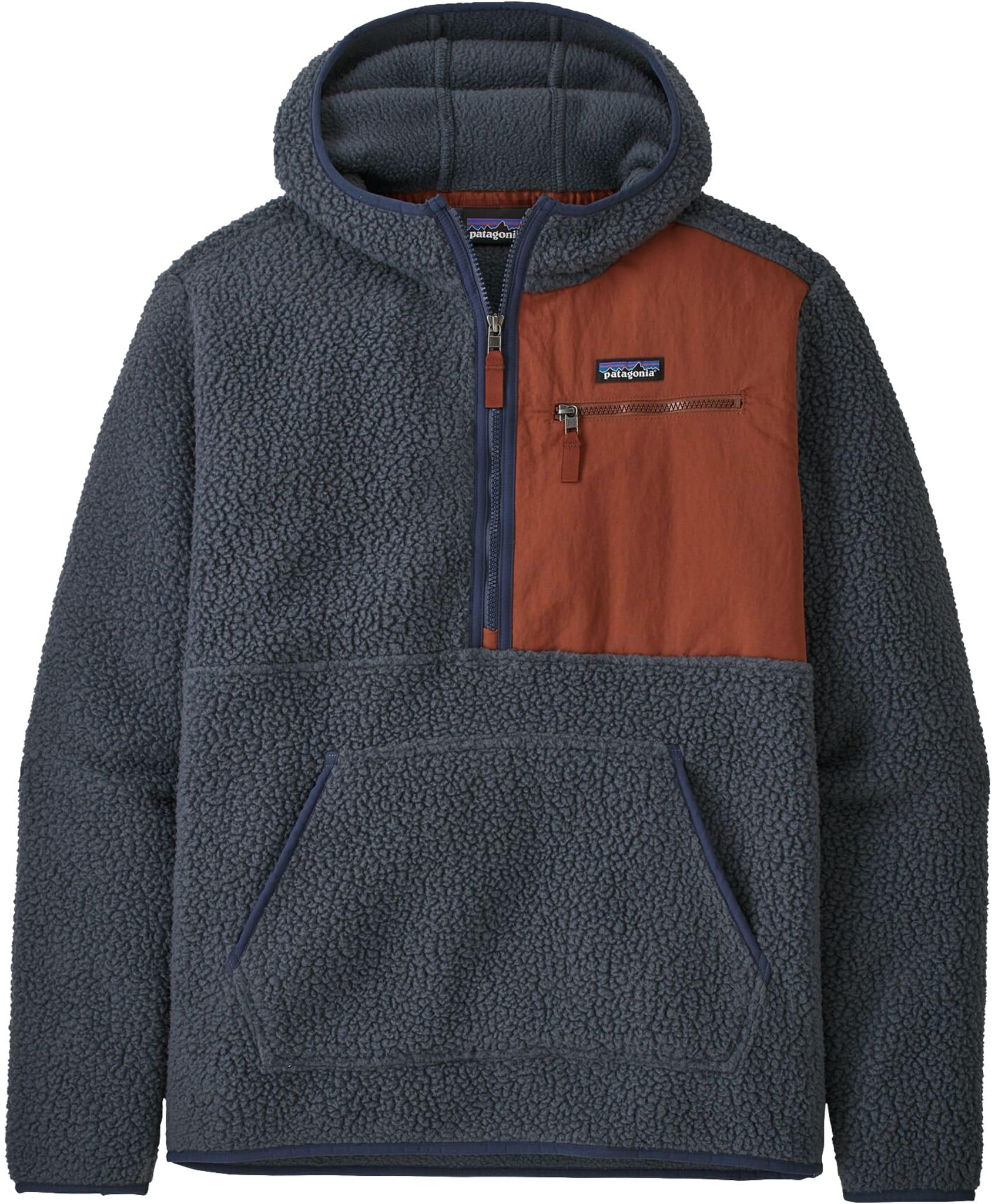 Retro Pile Fleece Pullover M
