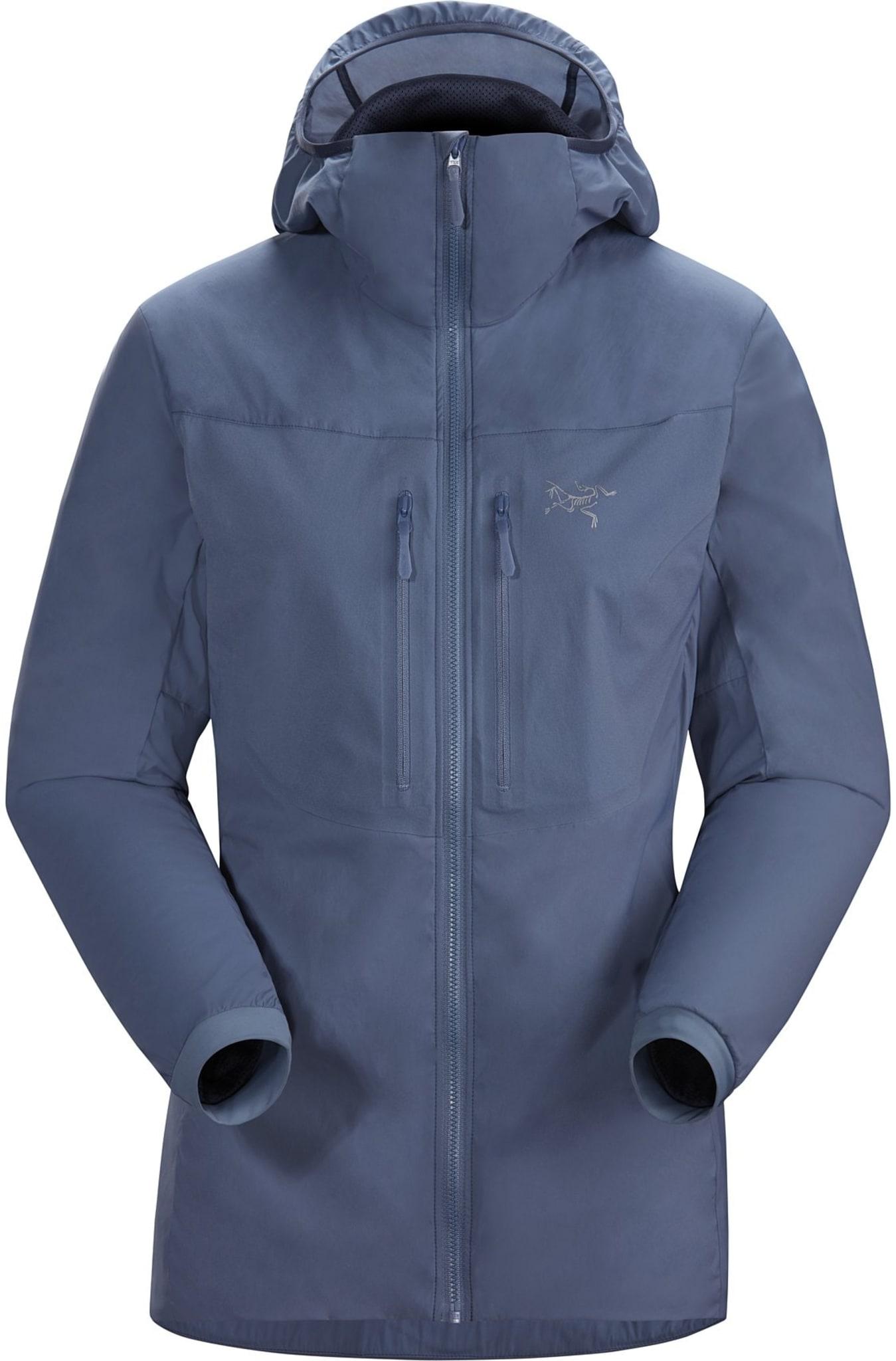 Lett, isolert, luftgjennomtrengelig softshell jakke