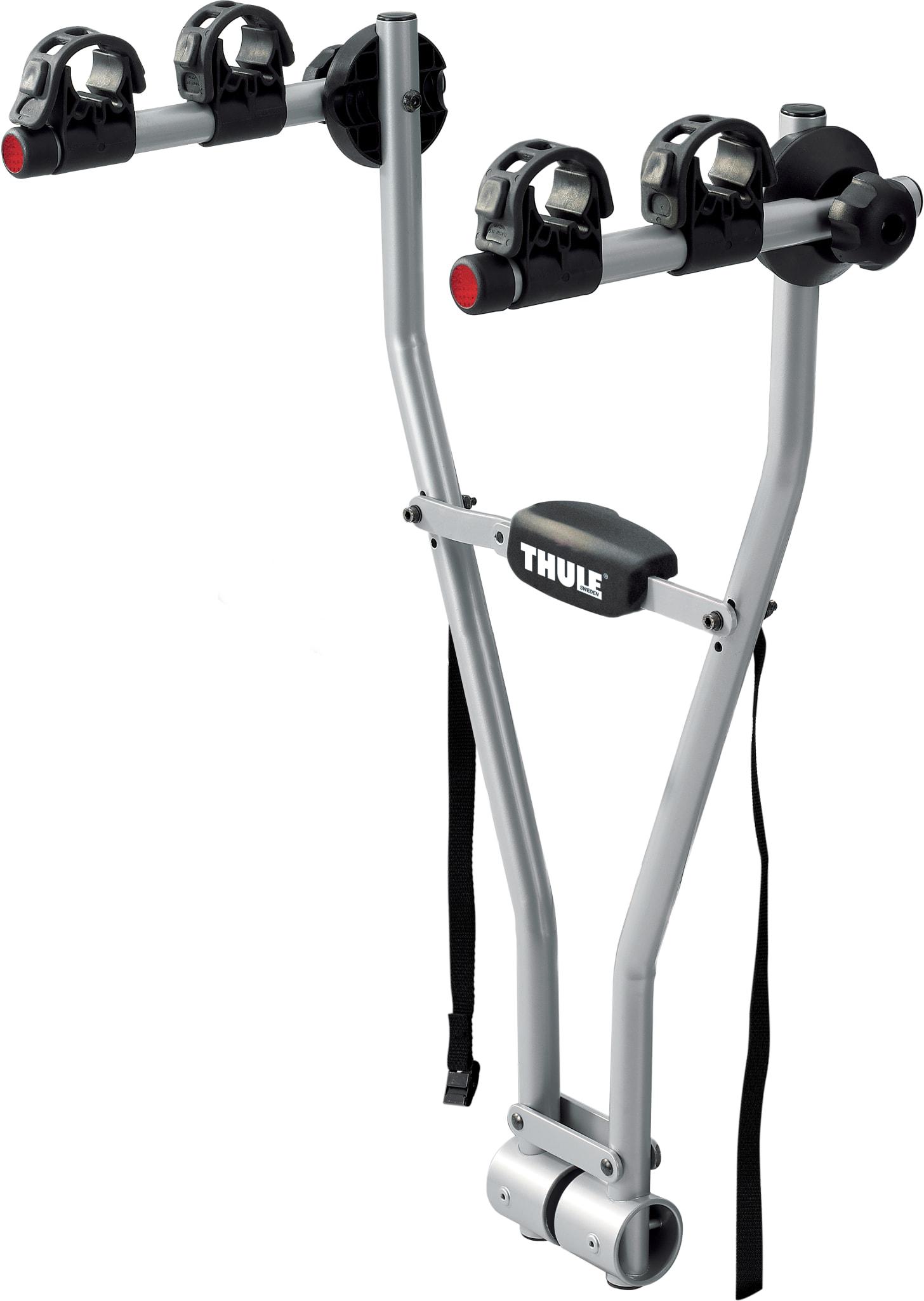 Enkelt, raskt og brukervennlig sykkelstativ for to sykler