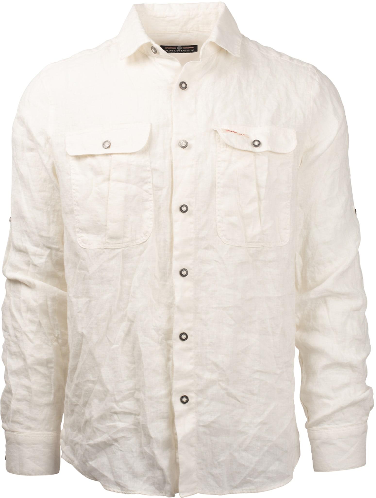 Safari Linen Shirt Garment Dyed Mens