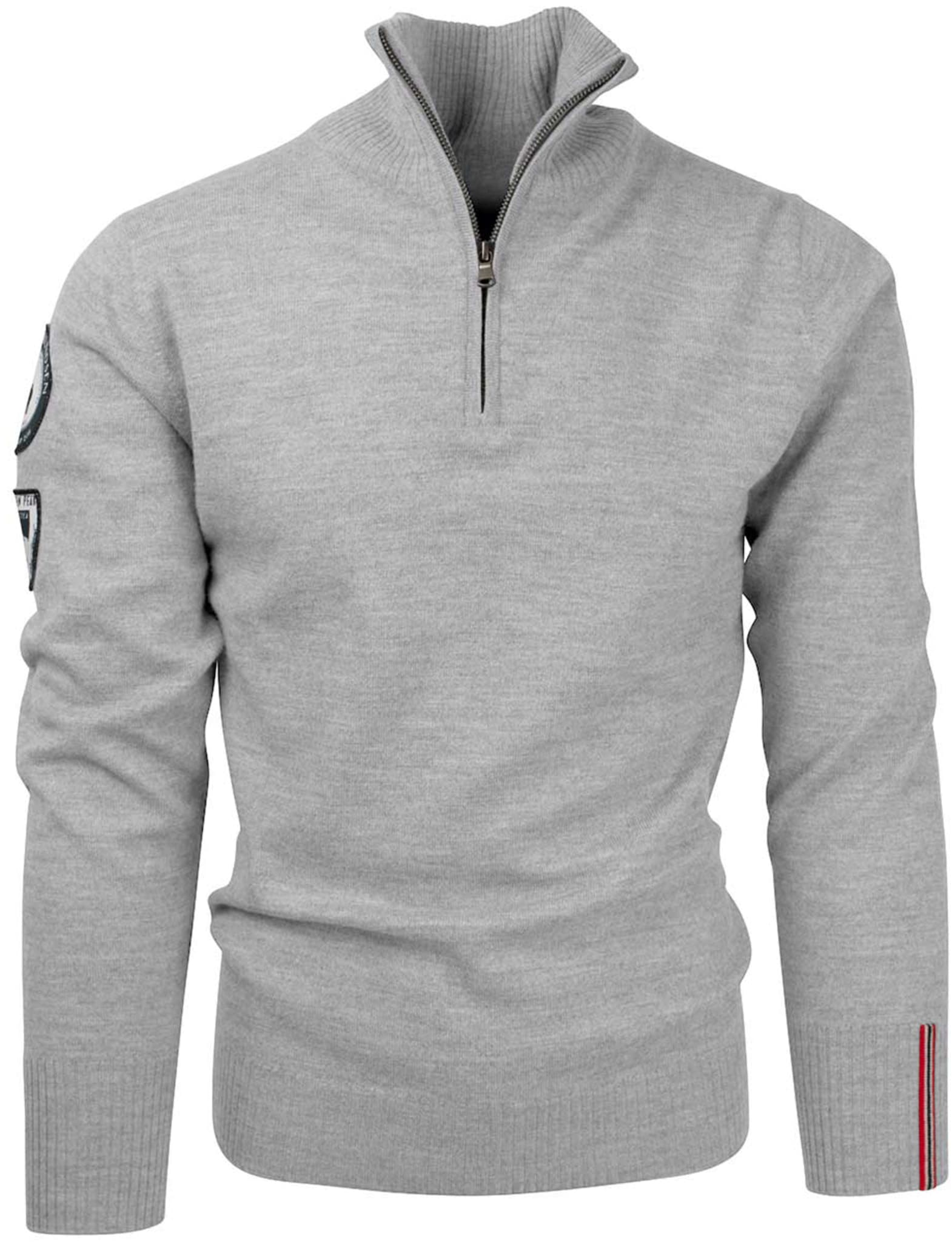 Myk og komfortabel genser i 100% høykvalitets merinoull