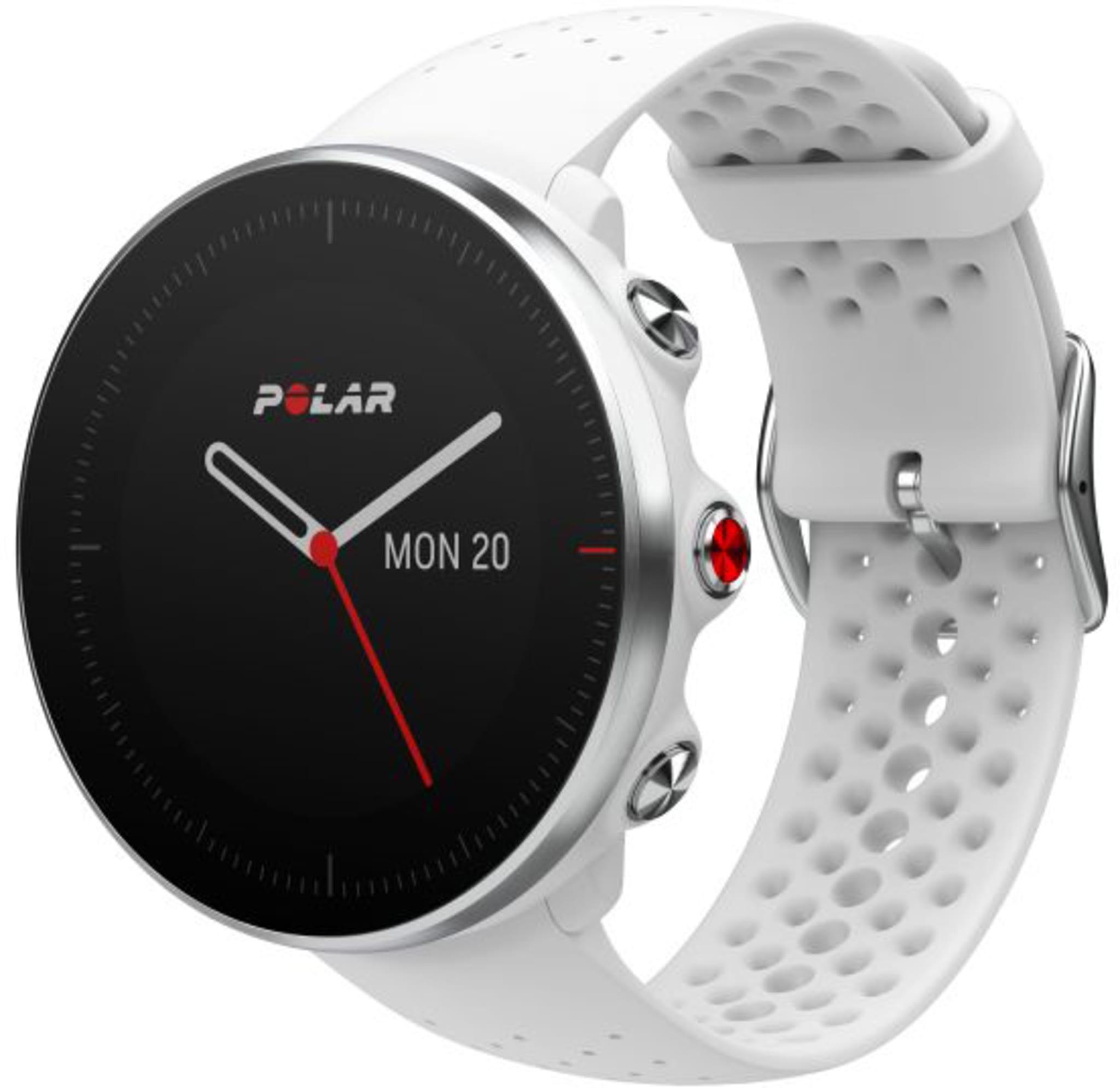 Avansert klokke for løping og multisport med GPS og puls på håndleddet
