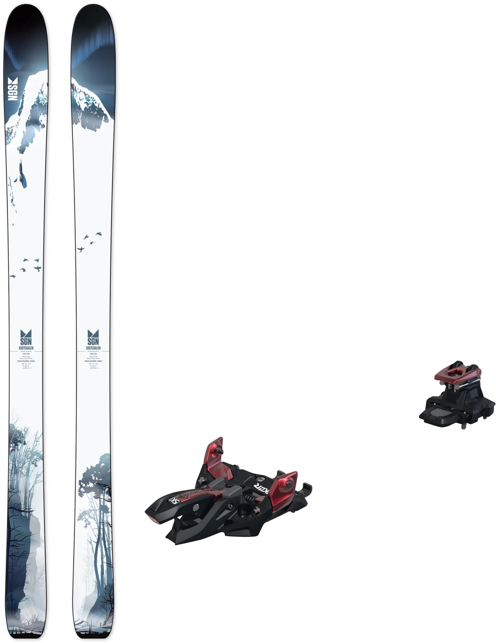 Jostedalen med Marker Alpinist 12