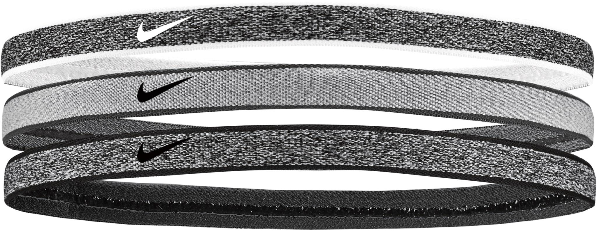 Heathered Swoosh Headband 3-Pack