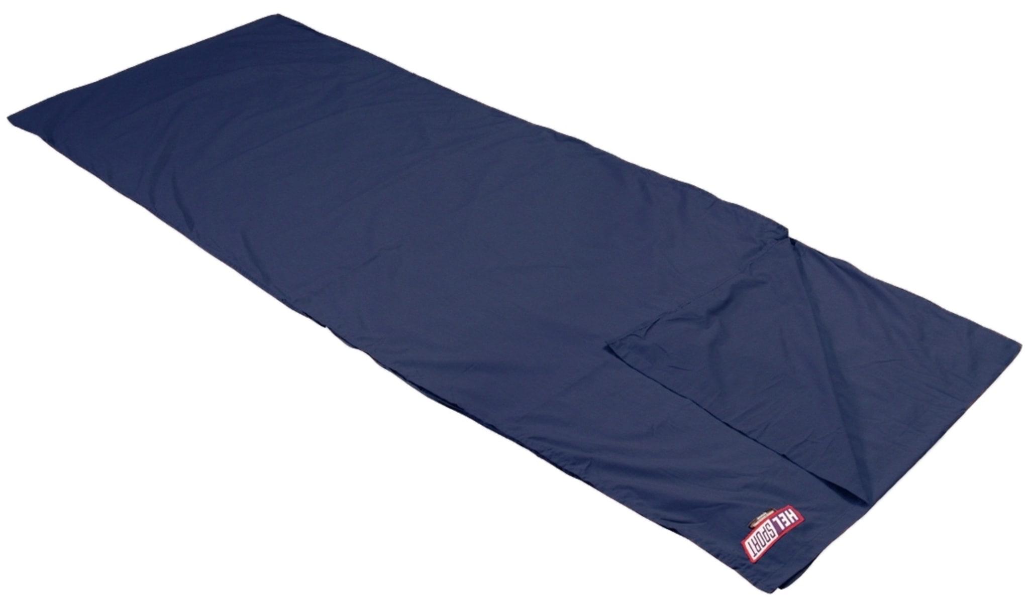 100% silke som øker komforttemraturen i soveposen med ca. 6°C.