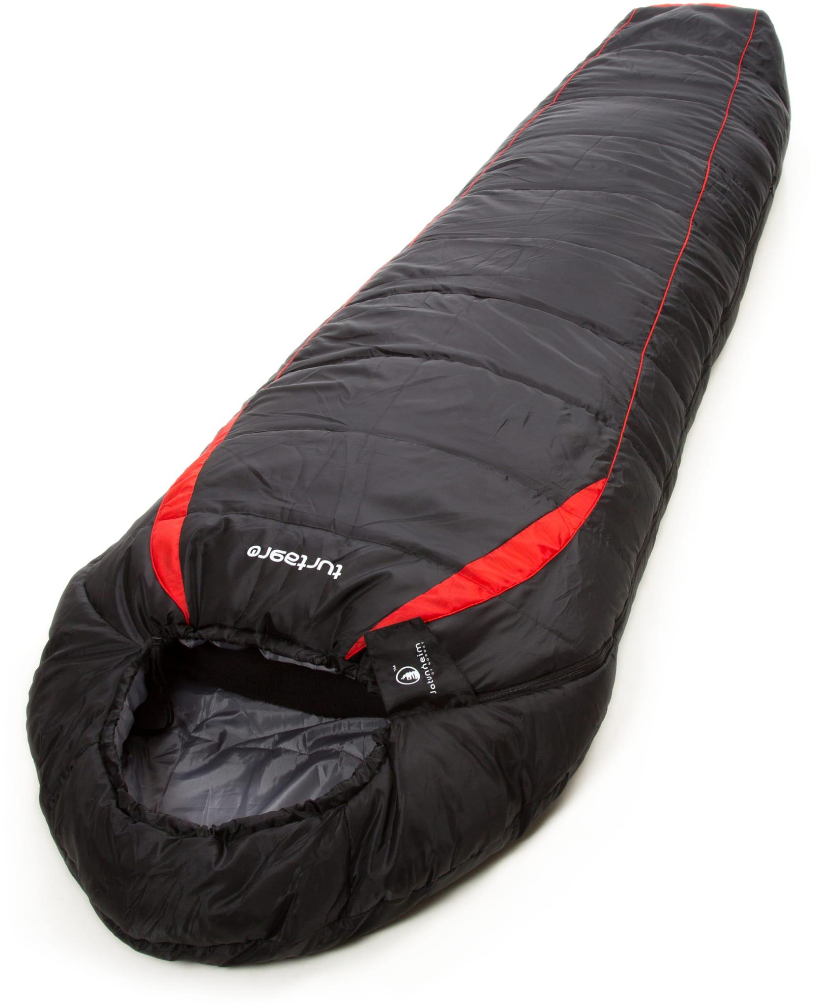 Enkel hulfiberpose med ytterstoff i ripstop-polyester til barn