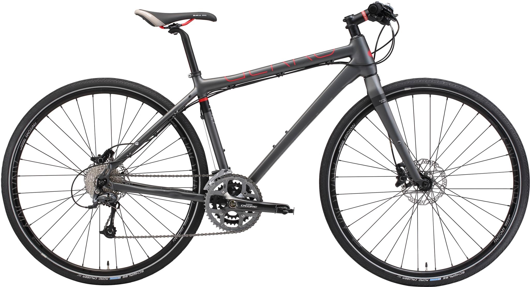 Lett og rask hybrid for trening, pendling og tur.