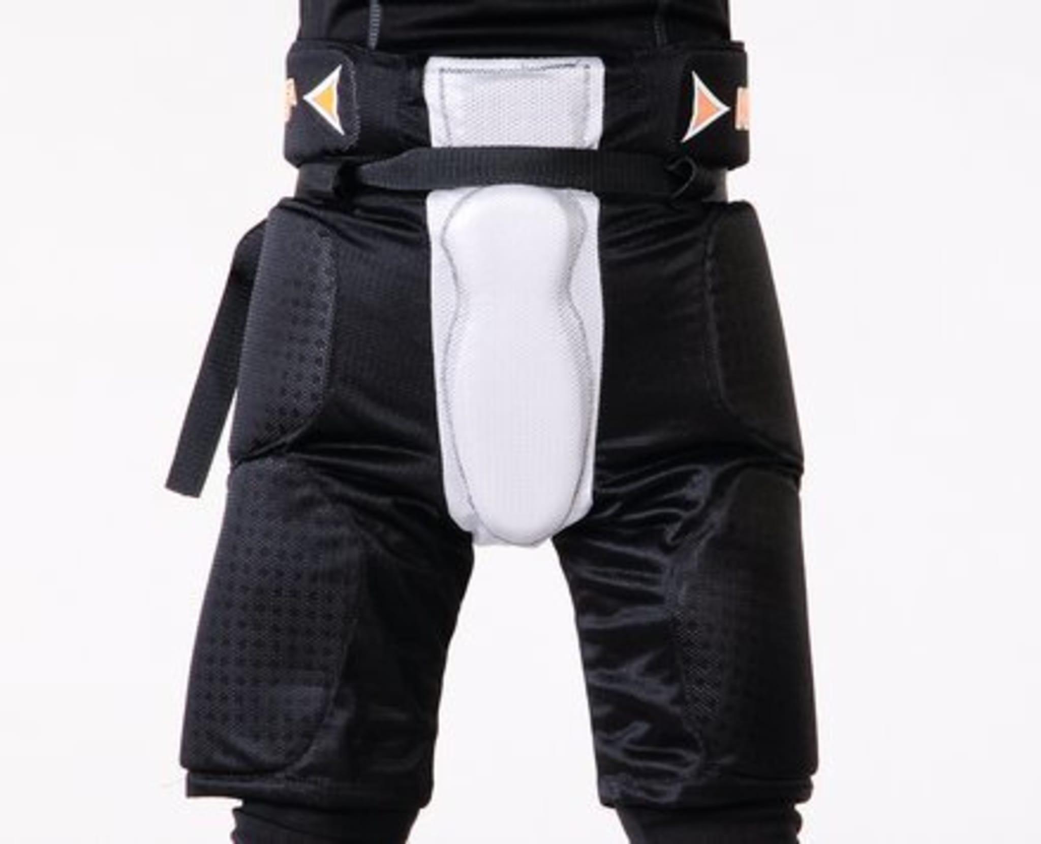 Beskyttelses bukse til å ha under bandybuksen.