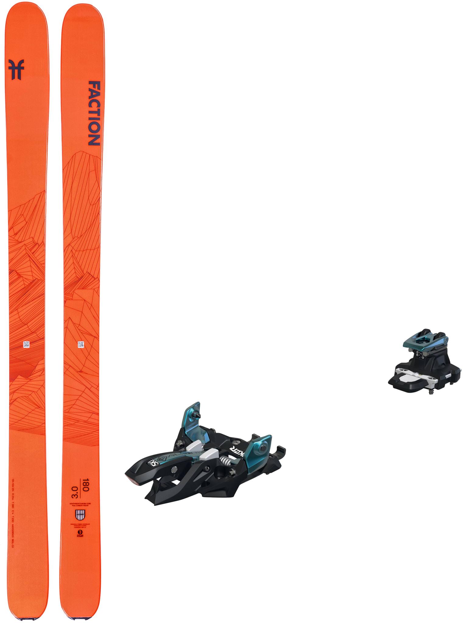 Agent 3.0 med Marker Alpinist 9