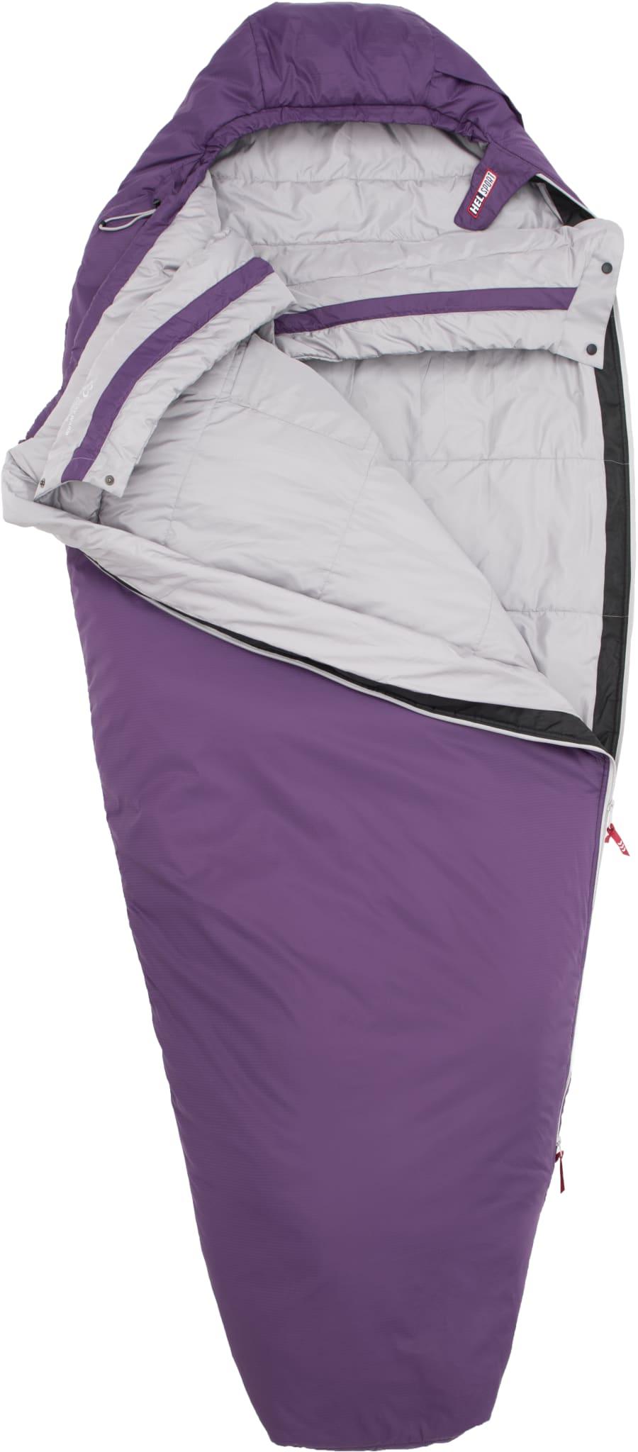 Lett og kompakt sovepose til dame for vår og sommer