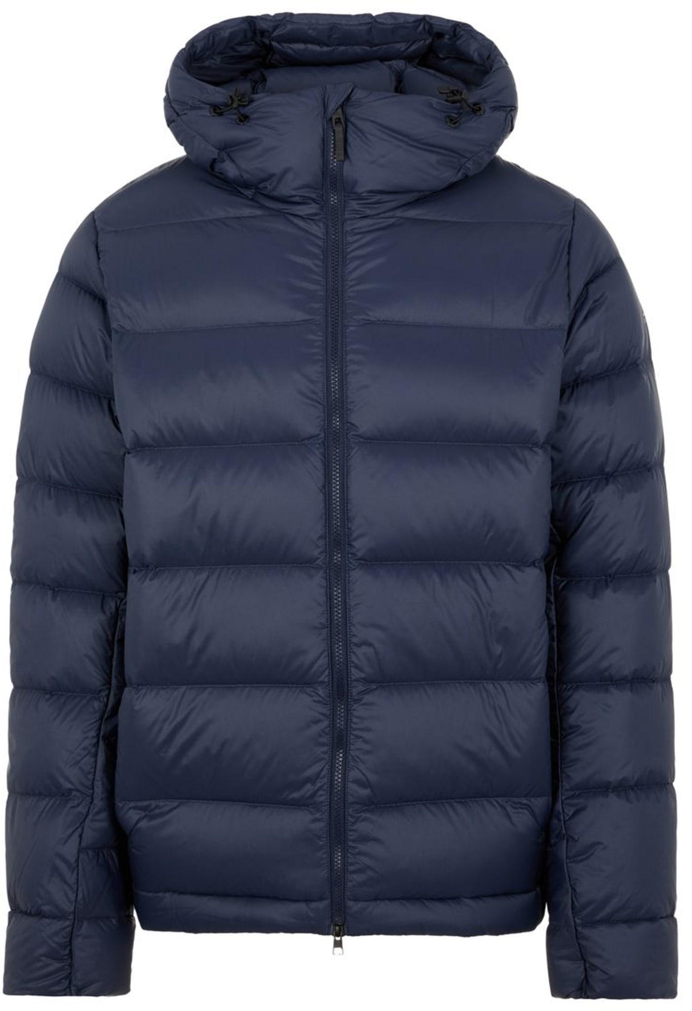 Vindtett, vannavstøtende og slitesterk jakke fyllt med høykvalitetsdun