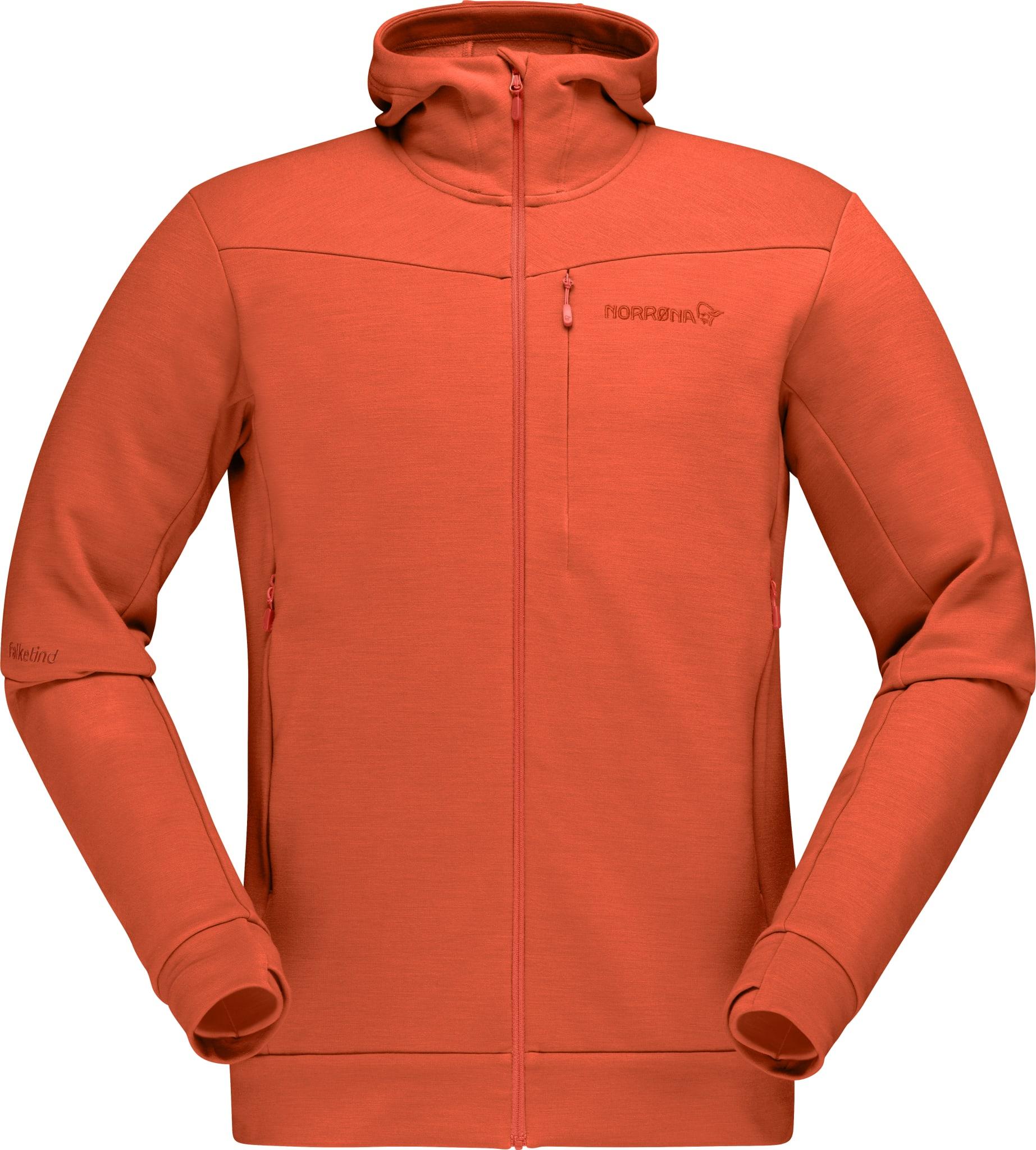 Falketind warmwool2 stretch Zip Hood