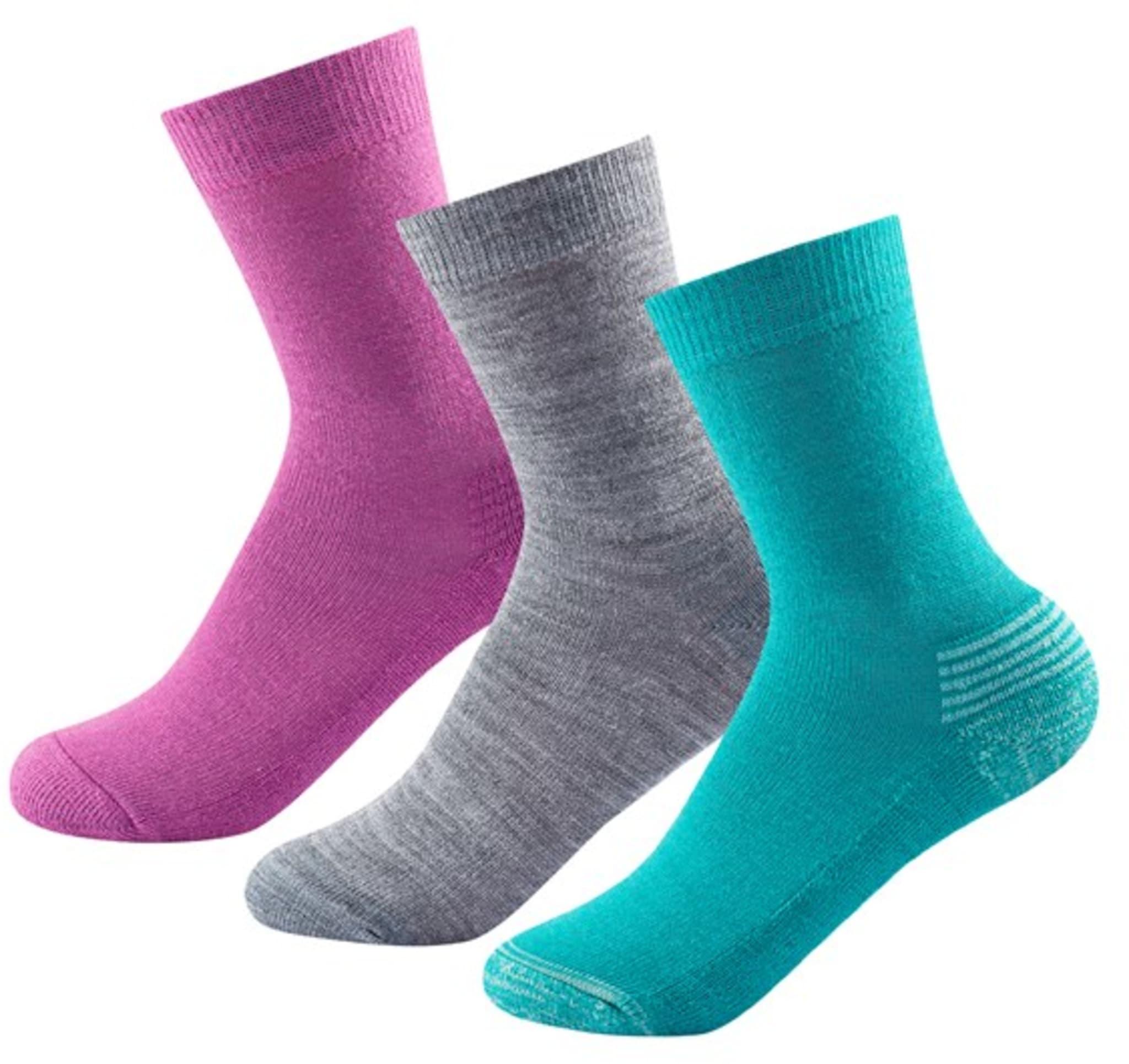 Daily Medium Kid Sock 3pk