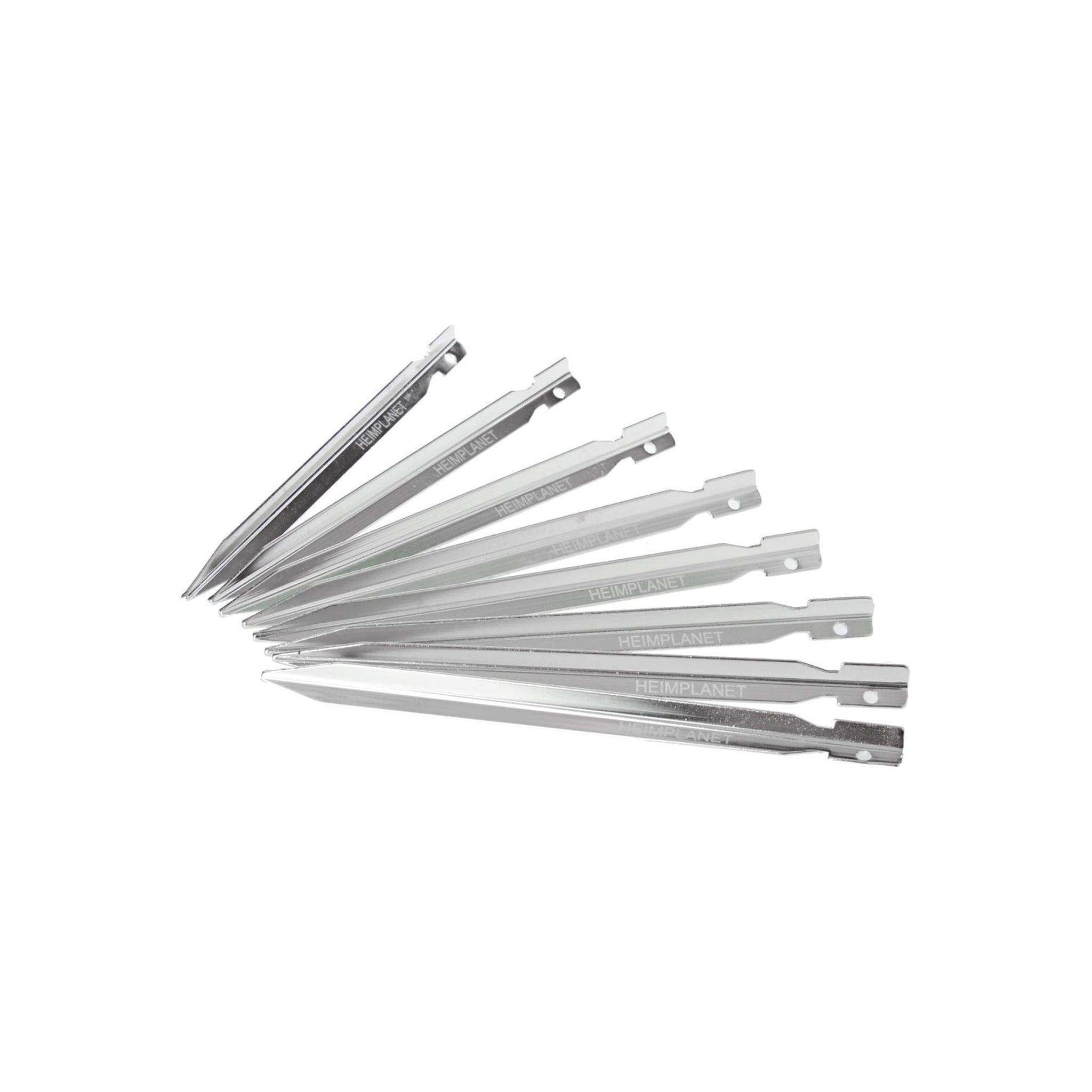 8 lette aluminiums teltpinner