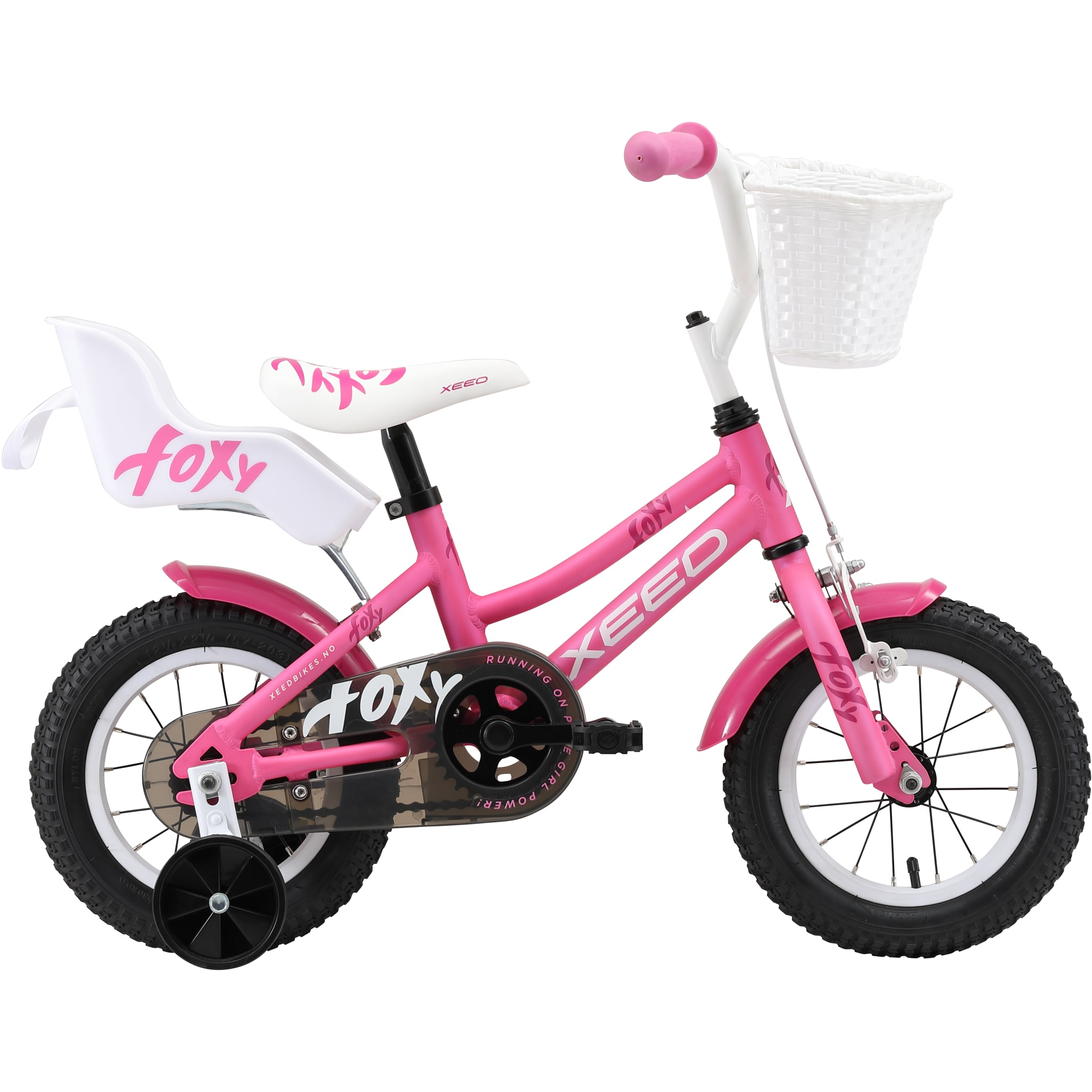 Sykkelen som er en liten prinsesse verdig!