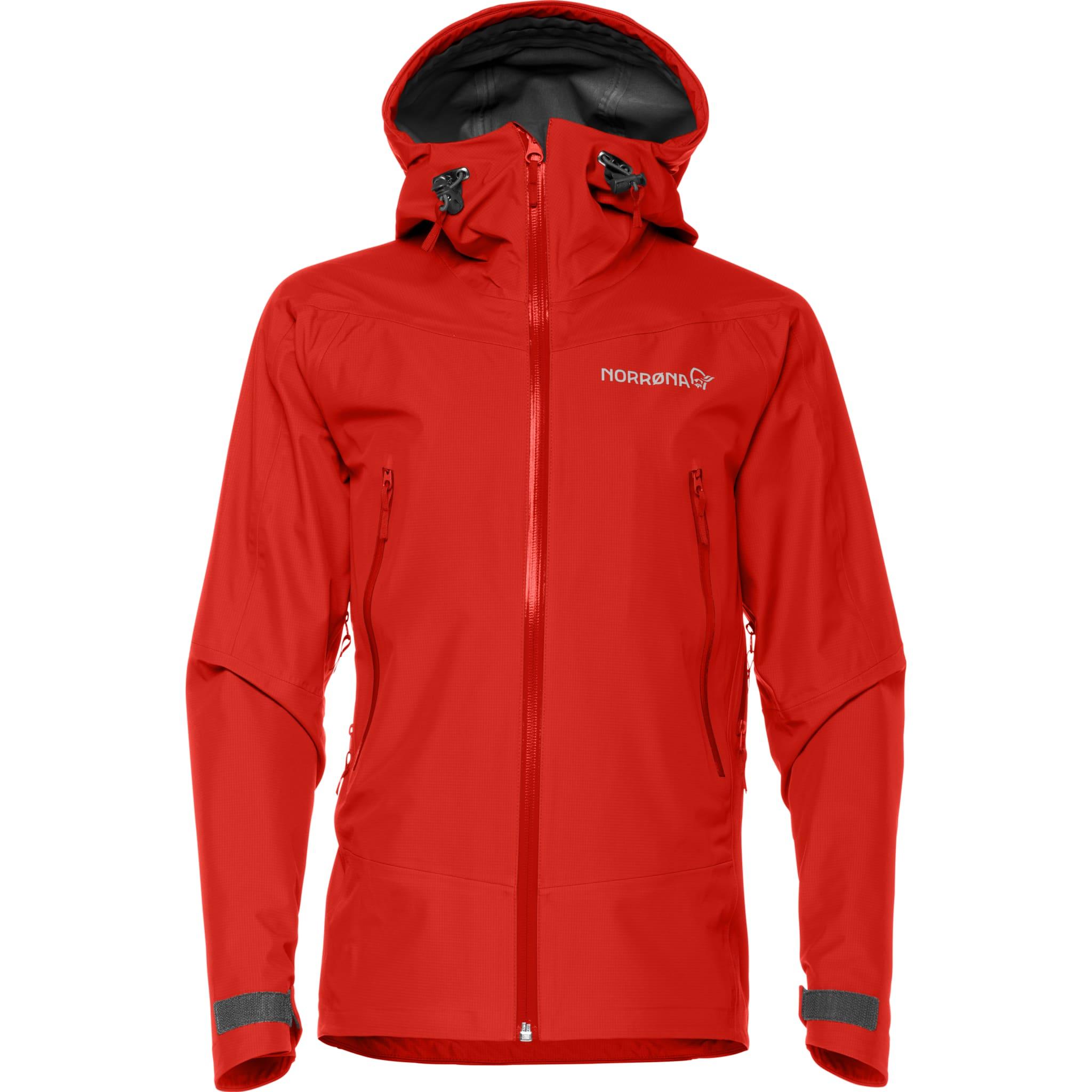 Allsidig, vanntett og pustende helårsjakke for unge fjellsportutøvere